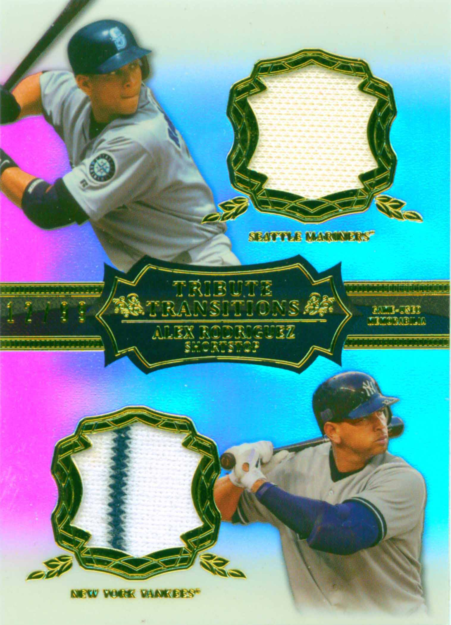 2013 Topps Tribute Transitions Relics