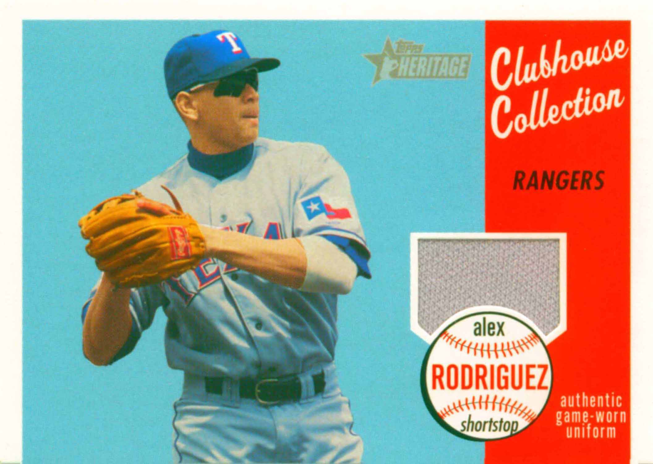 2003 Topps Heritage Clubhouse Collection Relics Uniform