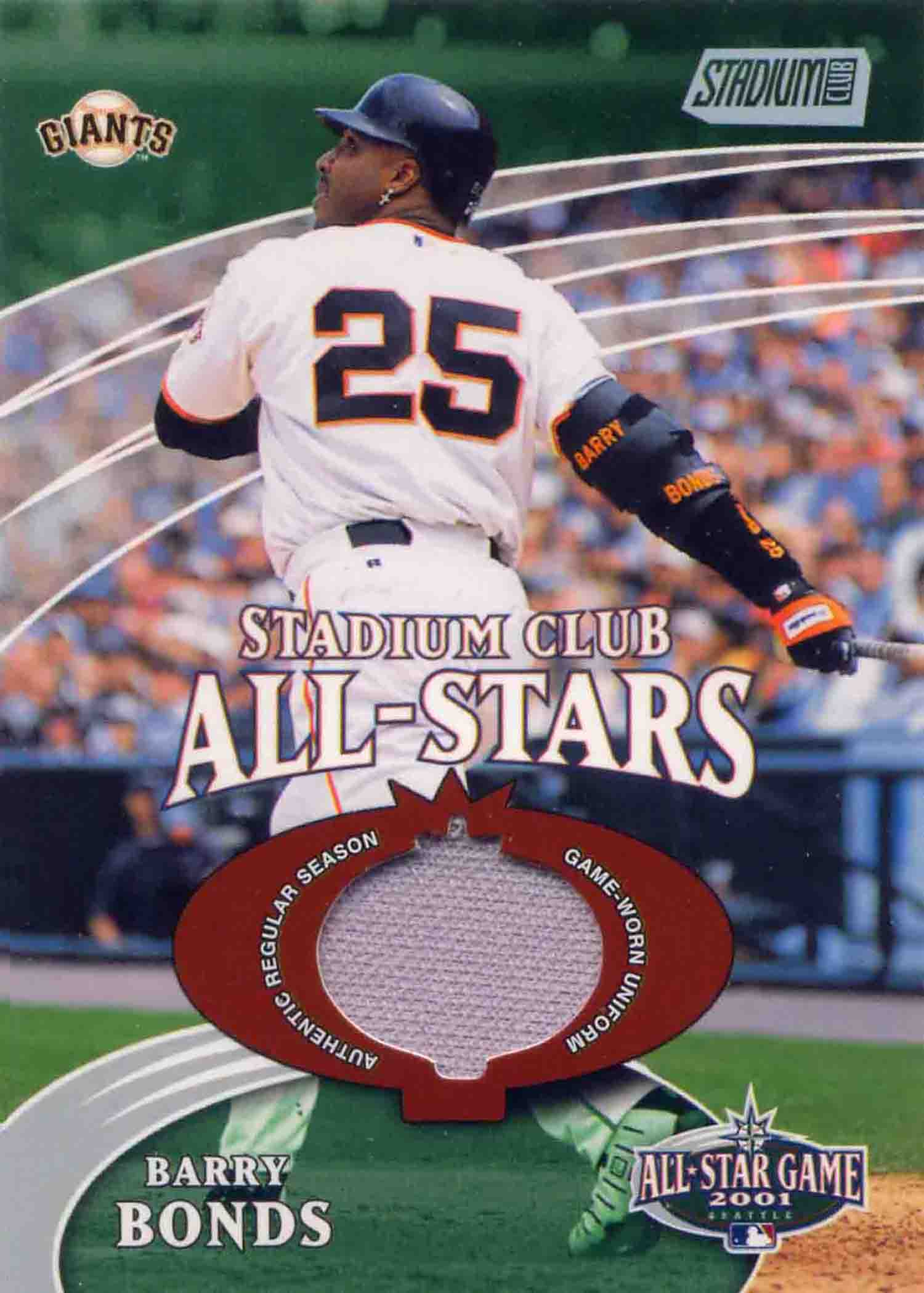 2002 Stadium Club All-Star Relics Uniform