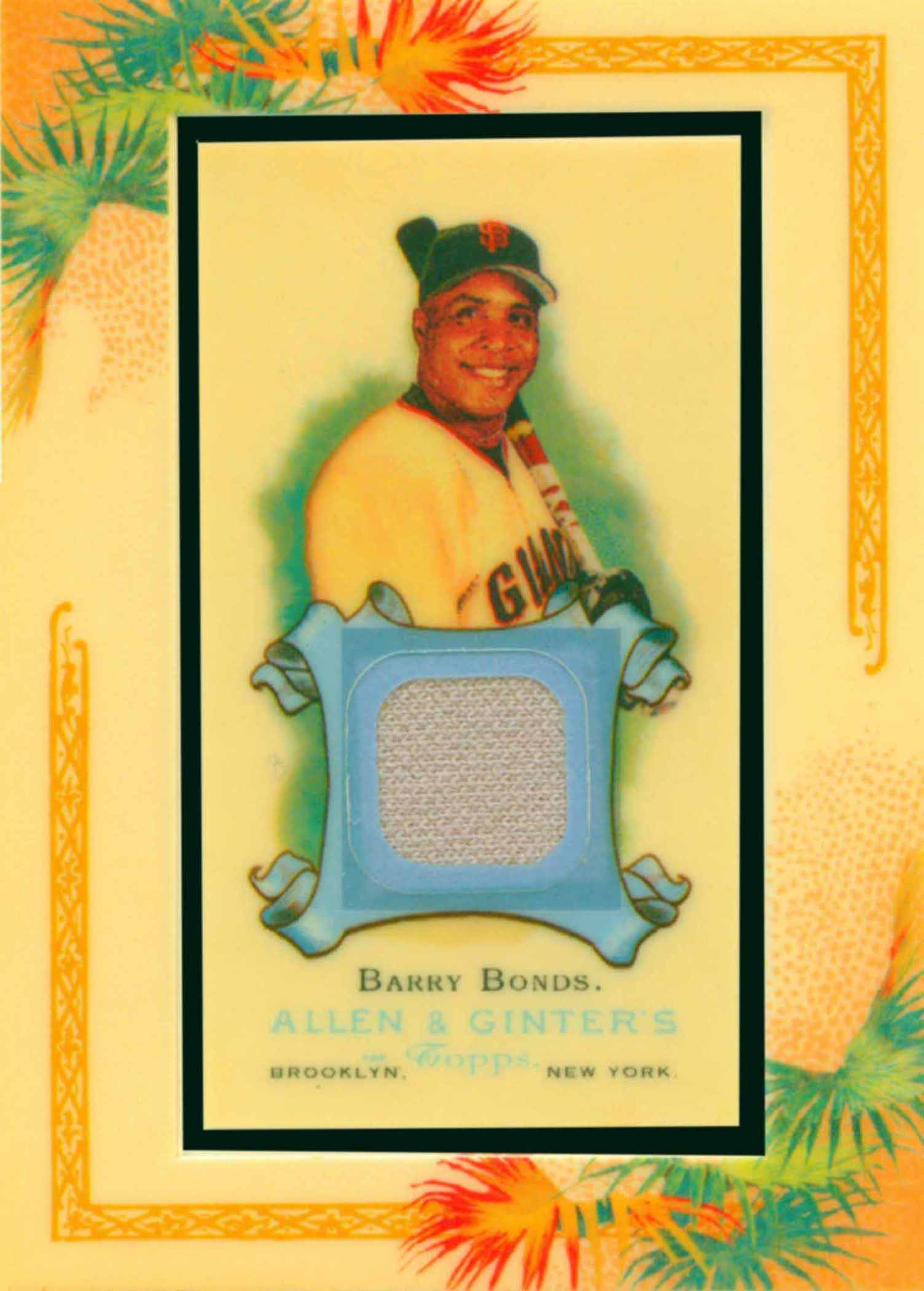 2006 Topps Allen and Ginter Relics Uniform