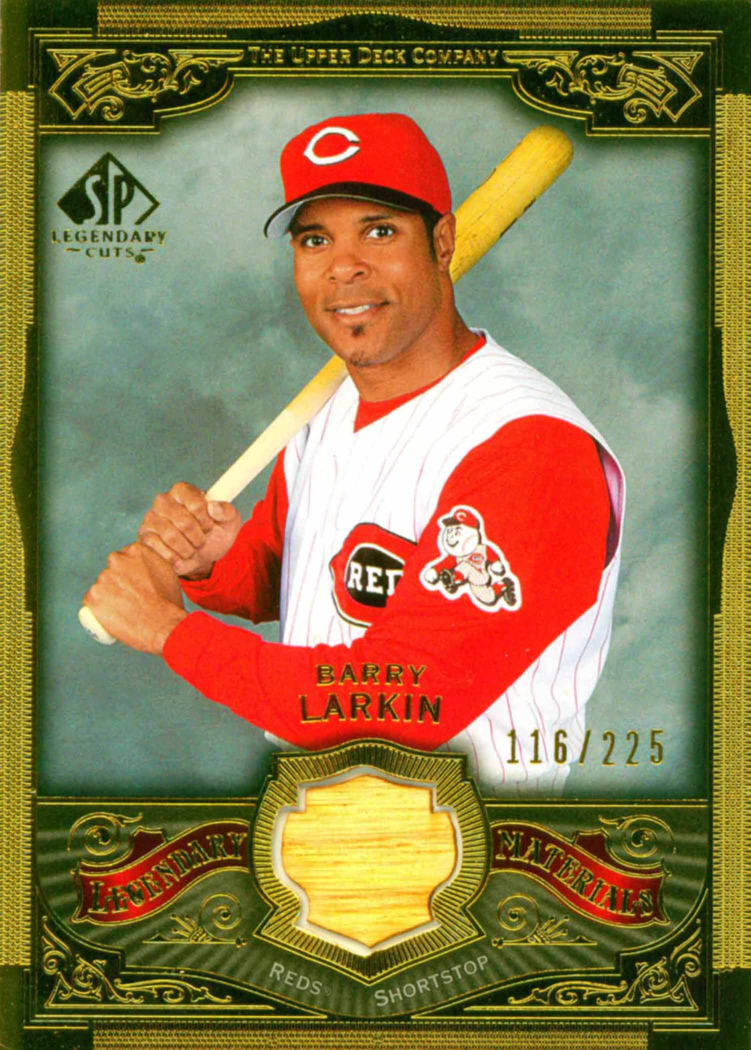 2006 SP Legendary Cuts Legendary Materials Gold Bat