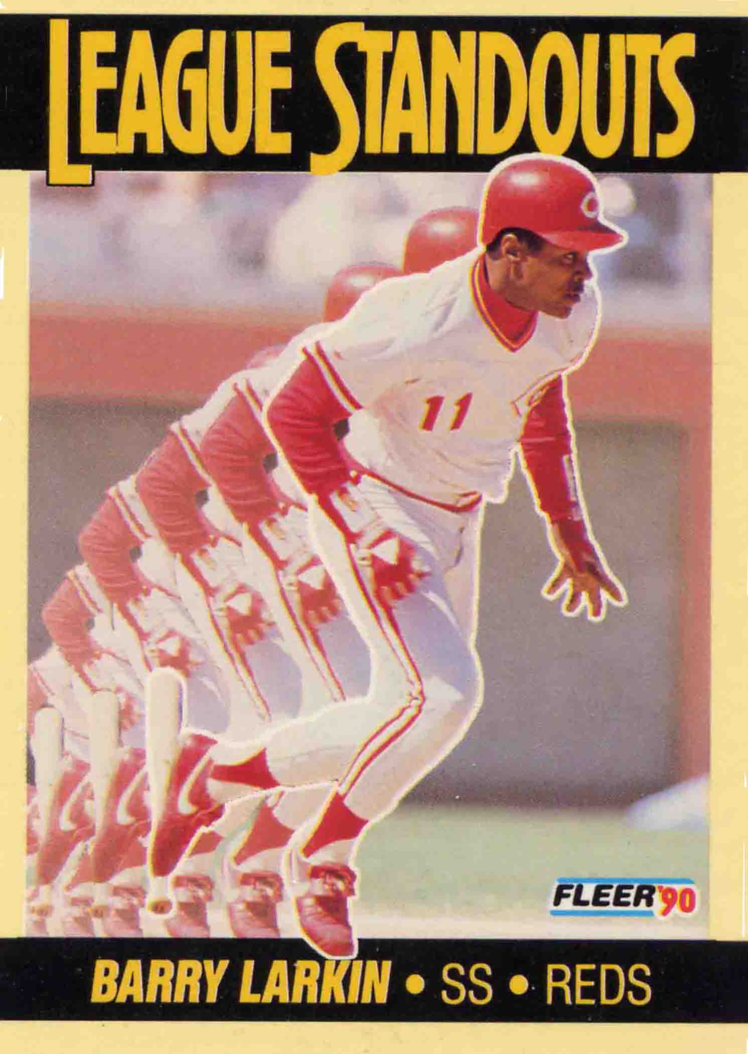 1990 Fleer League Standouts
