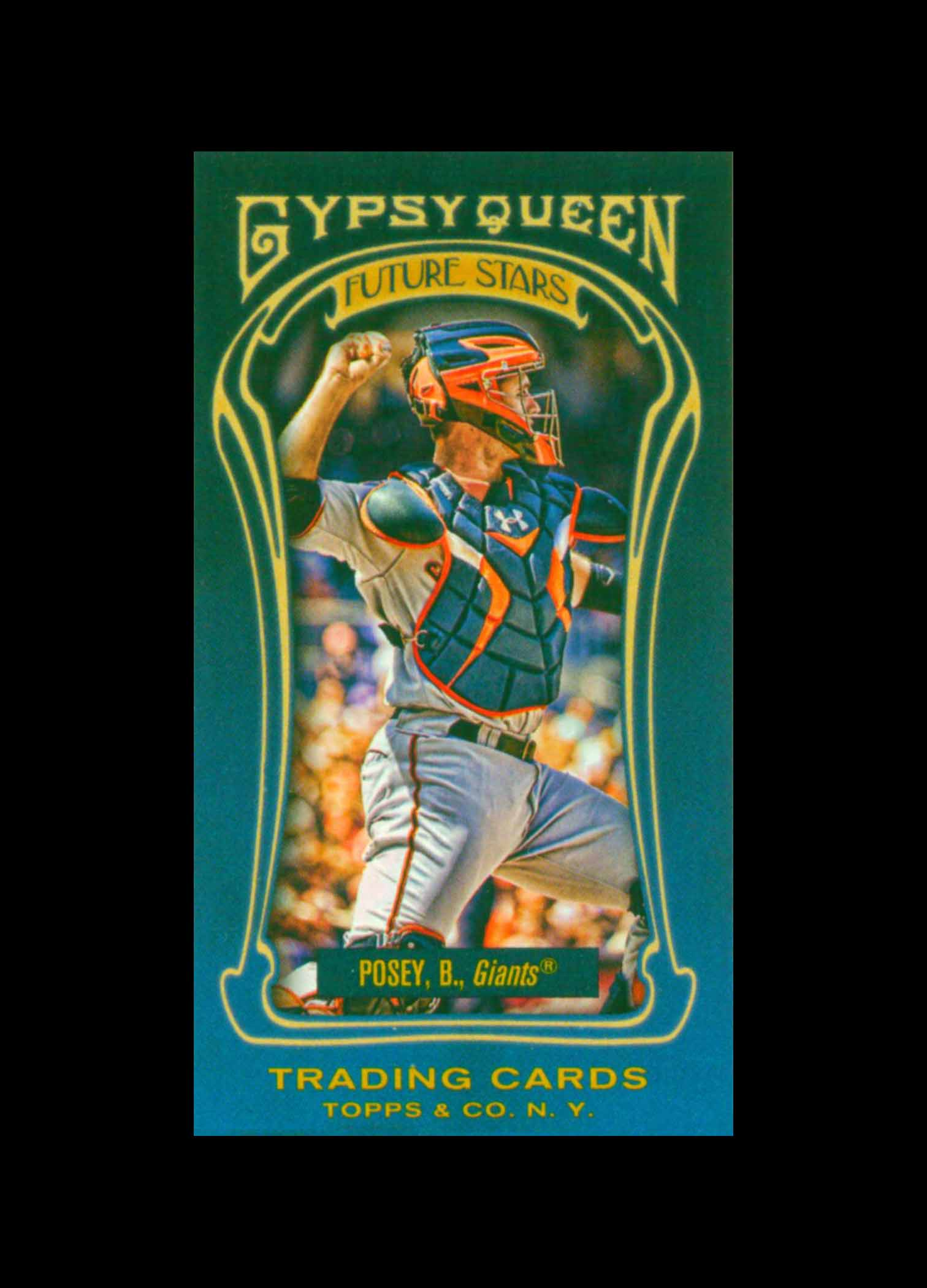 2011 Topps Gypsy Queen Future Stars Mini