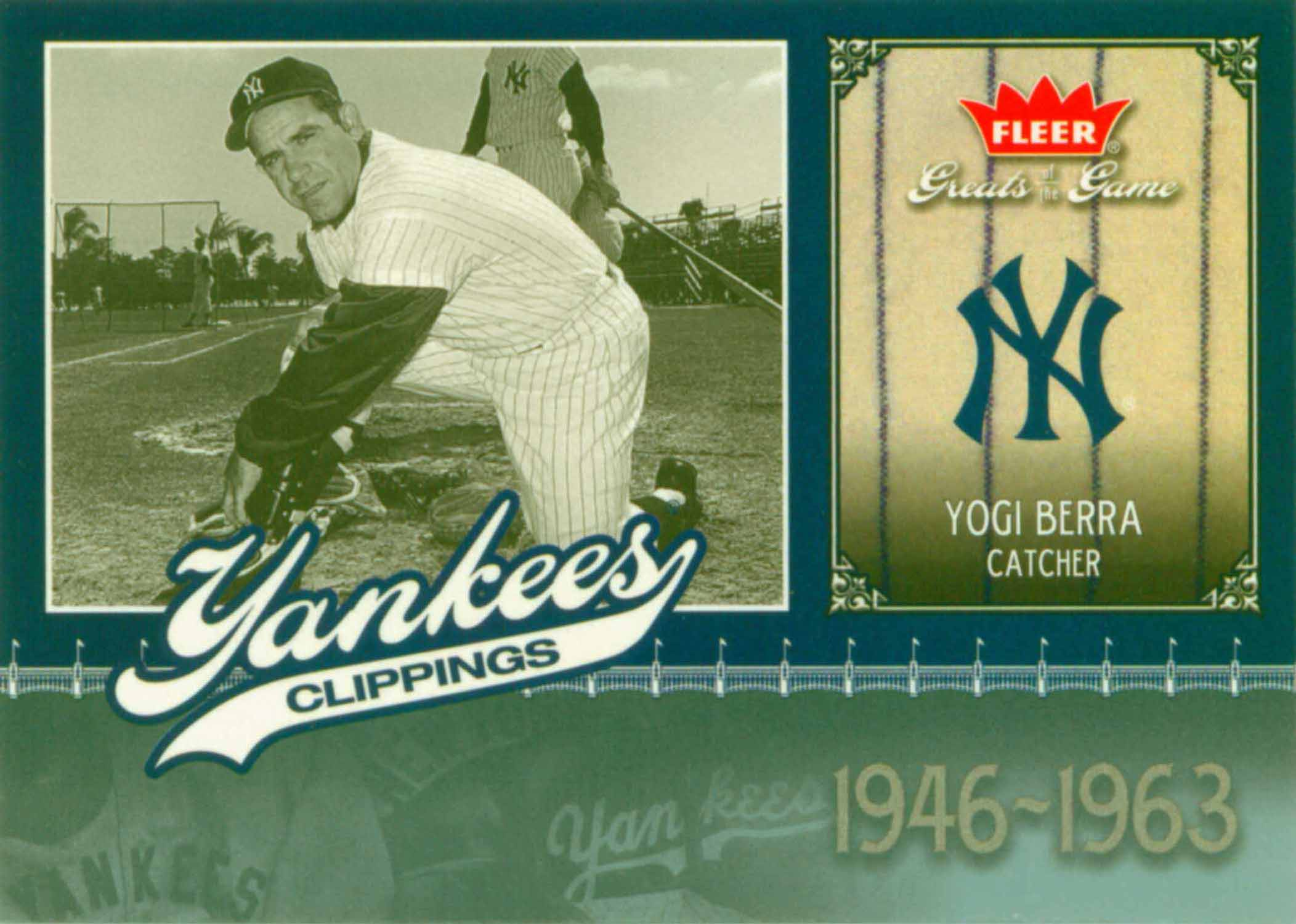 2006 Greats of the Game Yankee Clippings