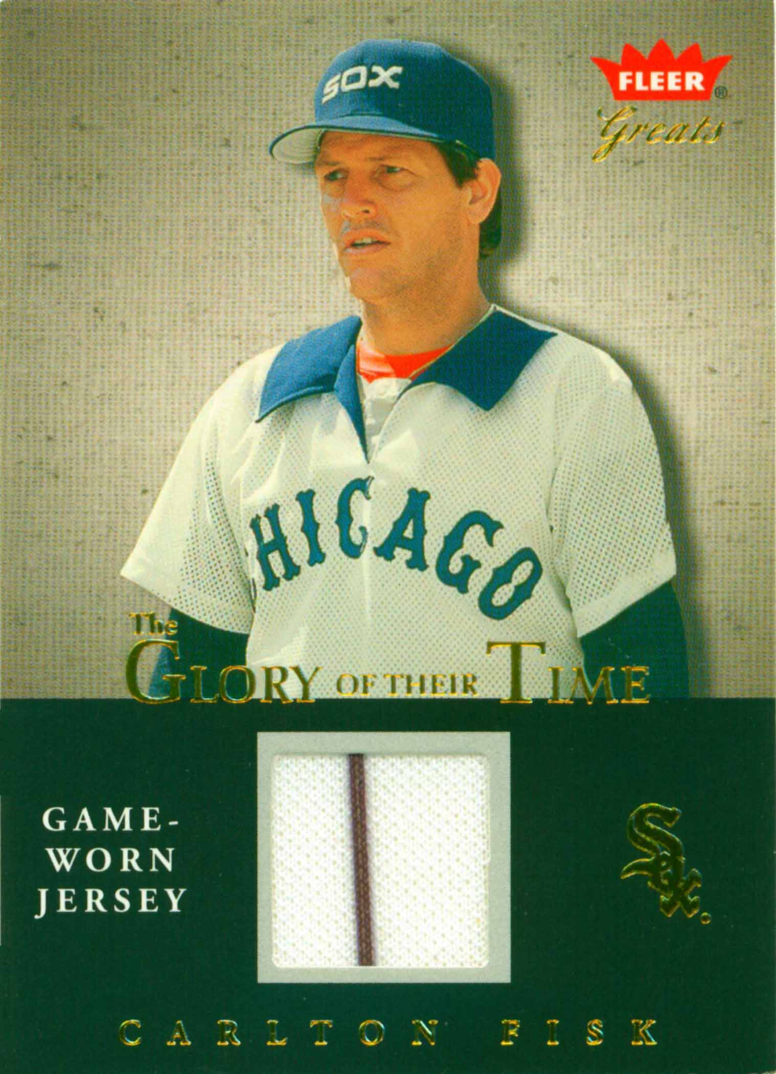 2004 Greats of the Game Glory of Their Time Game Used Jersey