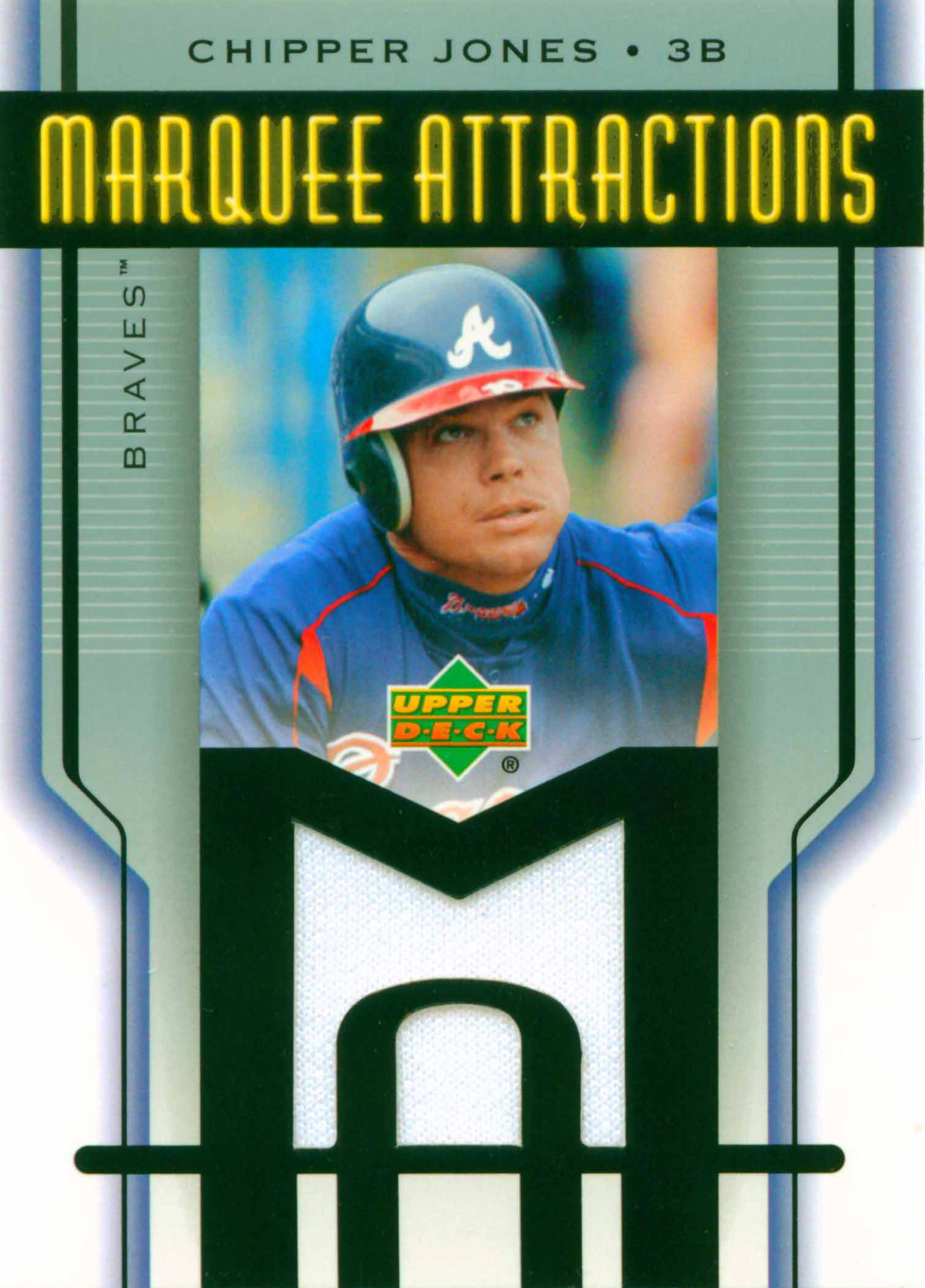 2005 Upper Deck Marquee Attractions Jersey