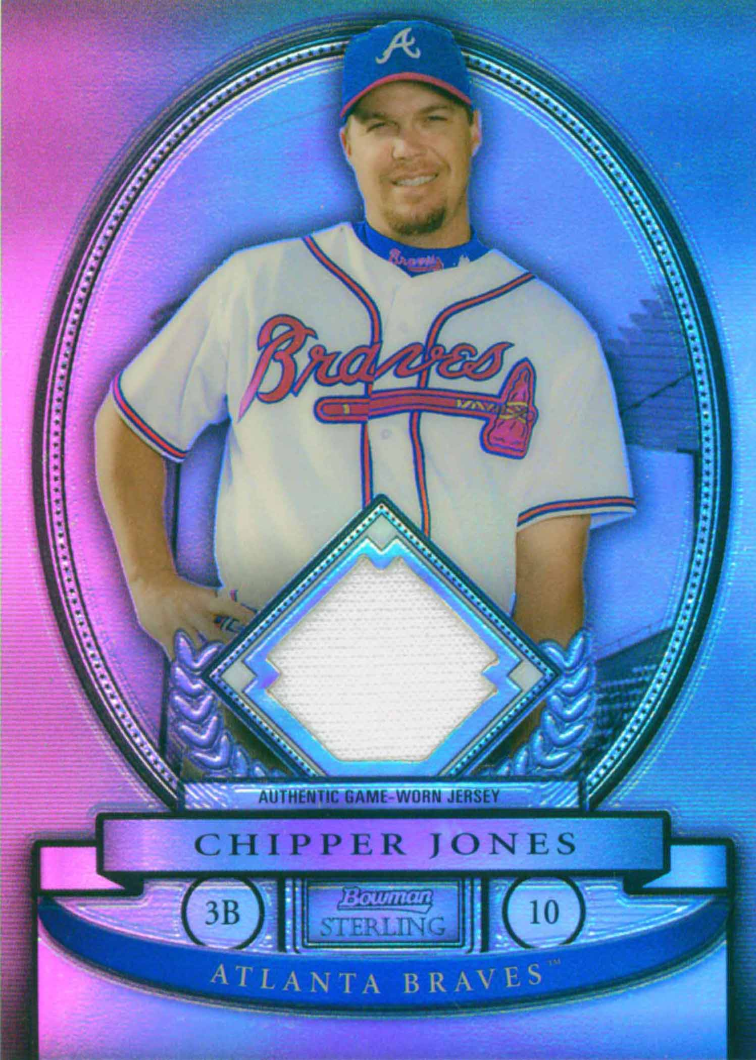 2008 Bowman Sterling Refractors Jersey