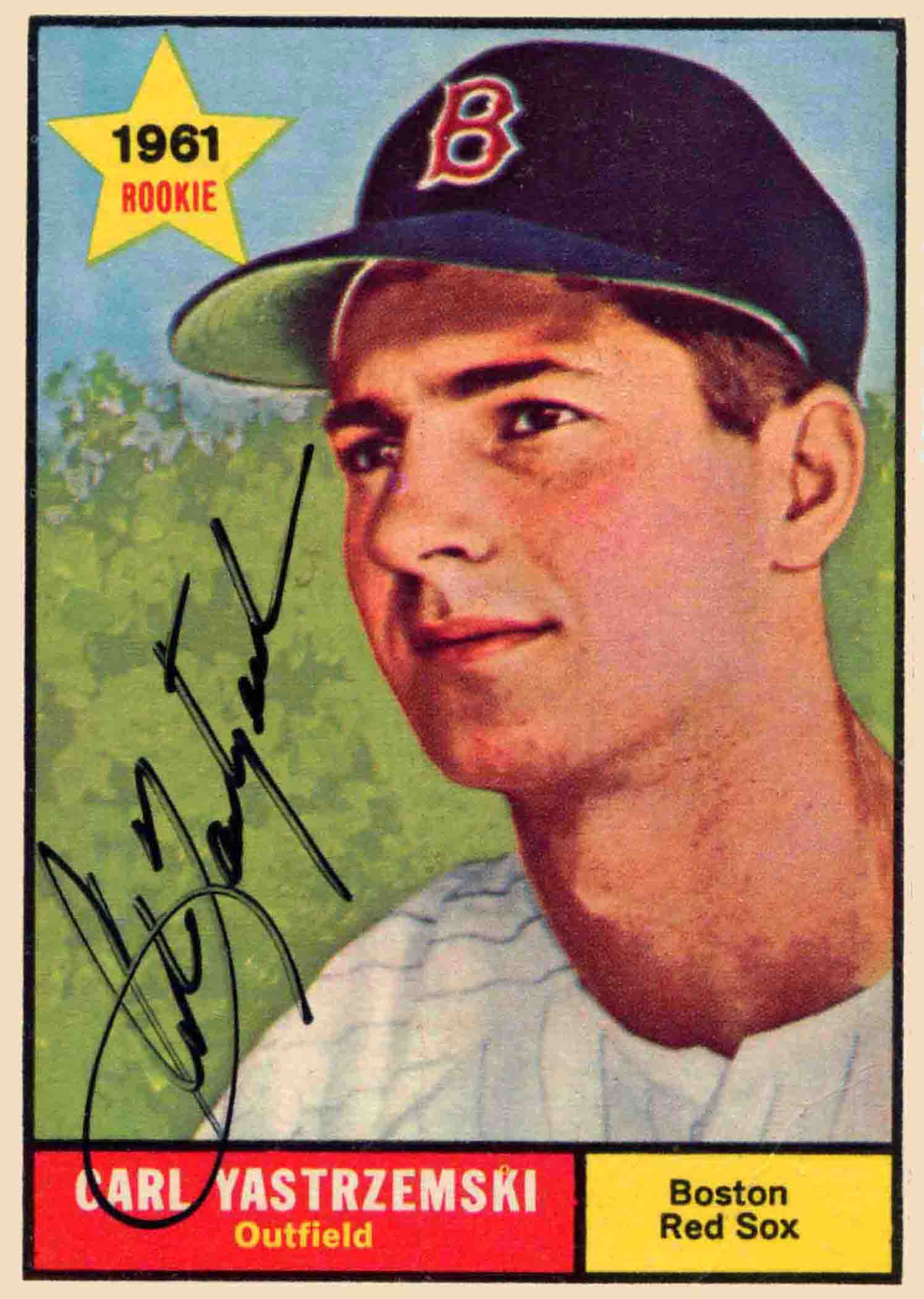 1961 Topps Autographed