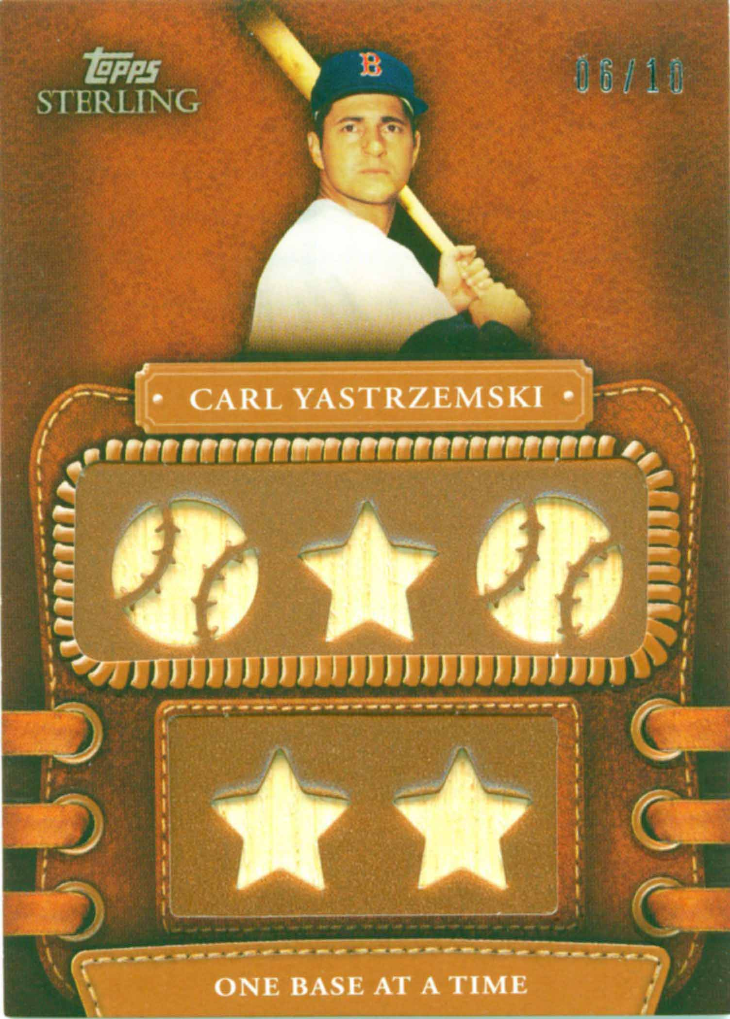 2010 Topps Sterling Legendary Leather Relics Five