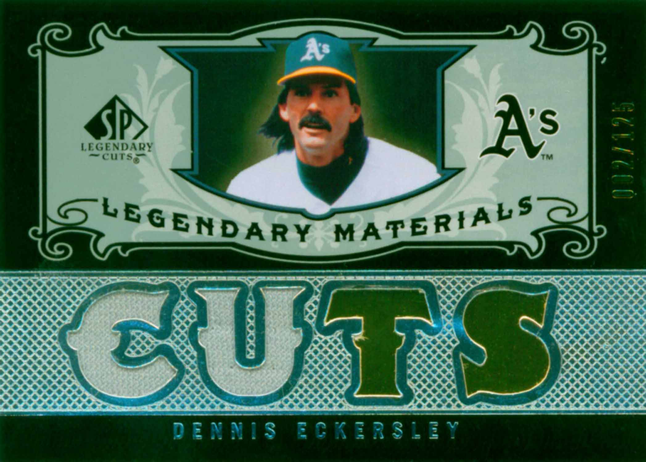 2007 SP Legendary Cuts Legendary Materials Dual