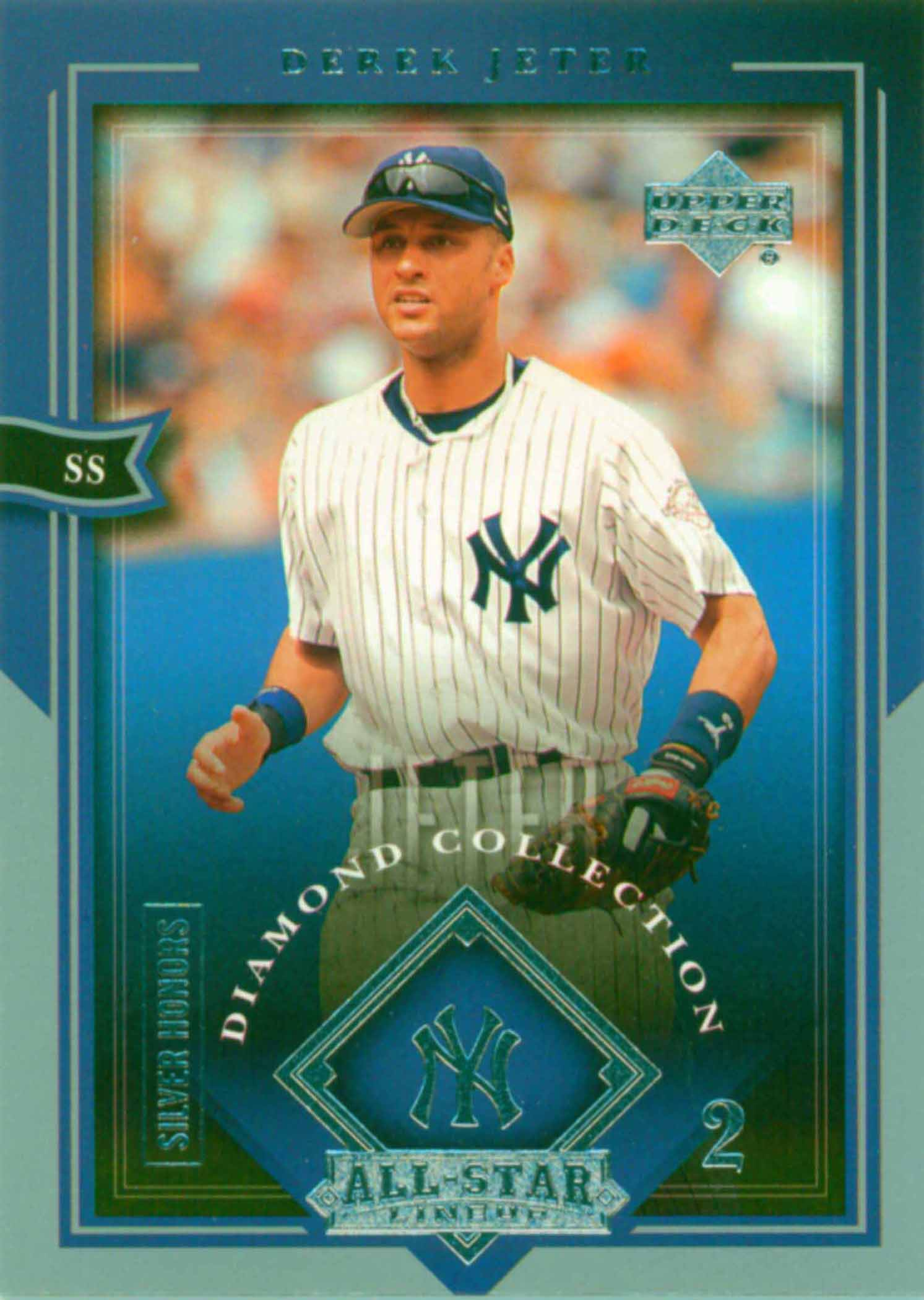 2004 UD Diamond All-Star Silver Honors