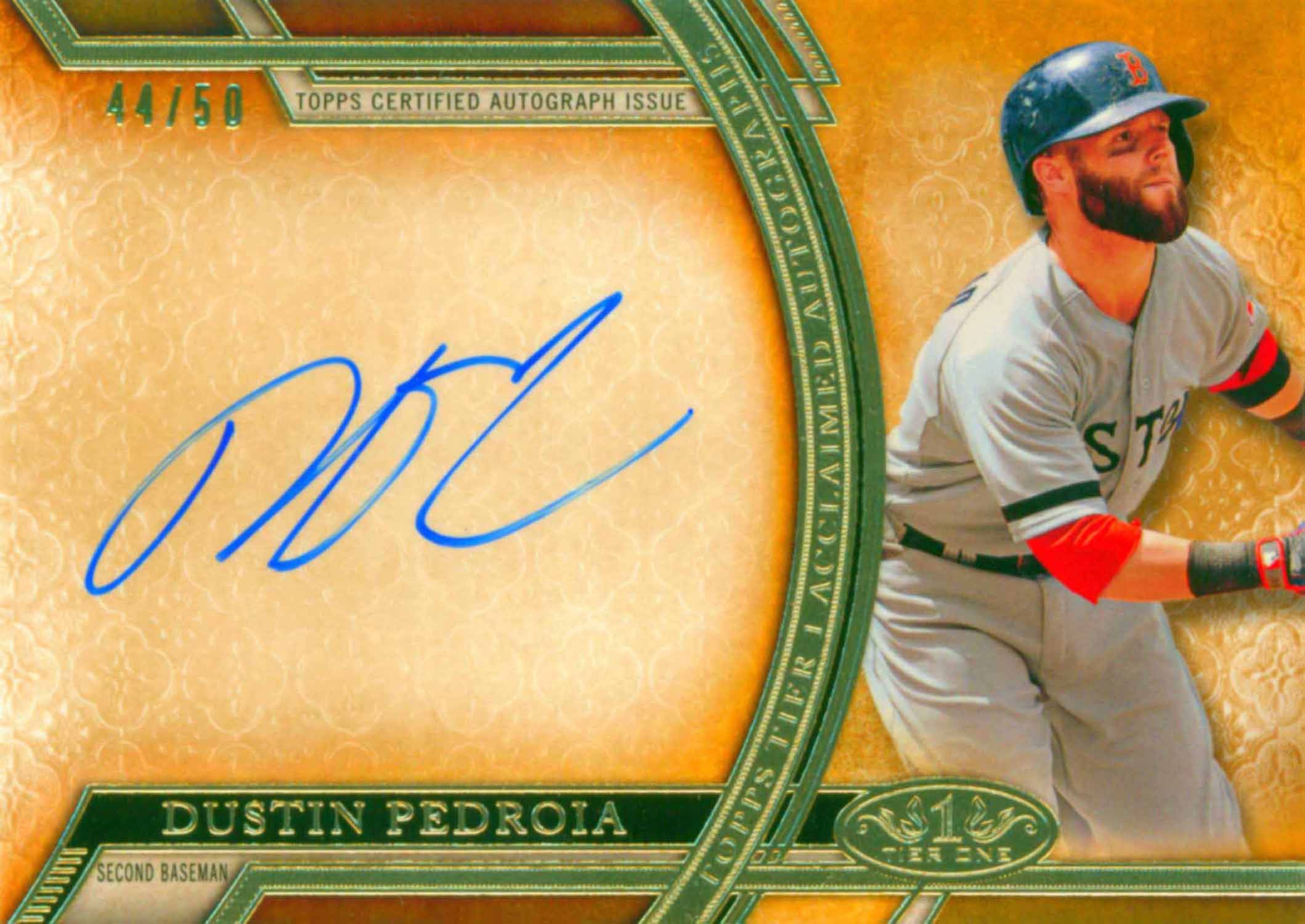 2015 Topps Tier One Acclaimed Autographs