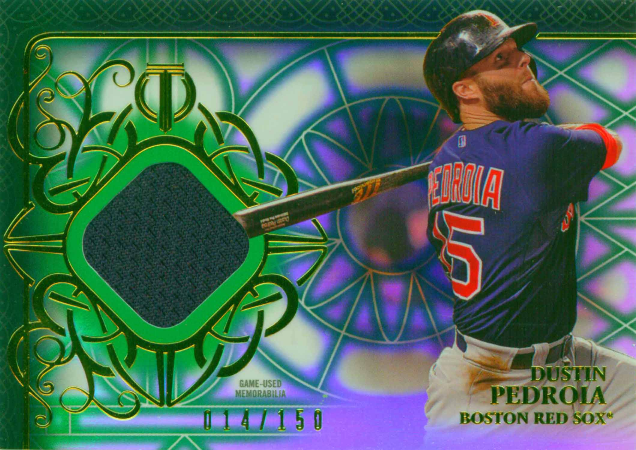 2015 Topps Tribute Relics Green