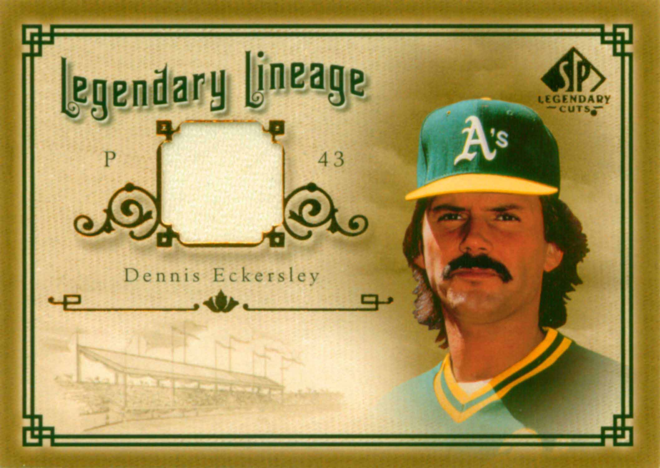 2005 SP Legendary Cuts Legendary Lineage Material Jersey