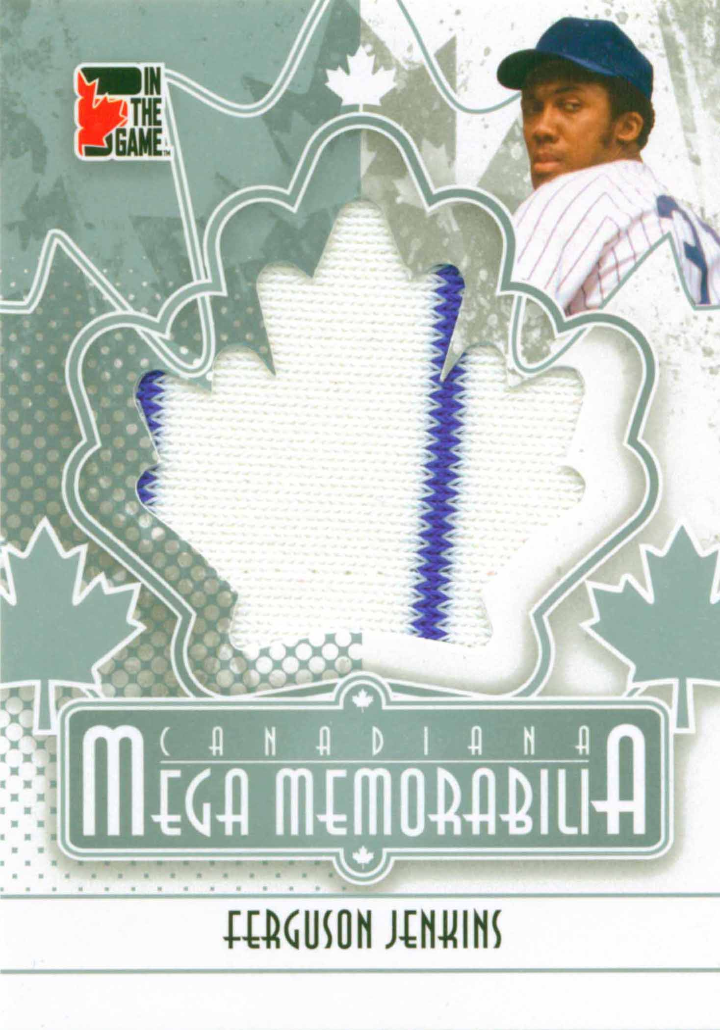 2011 In The Game Canadiana Mega Memorabilia Silver