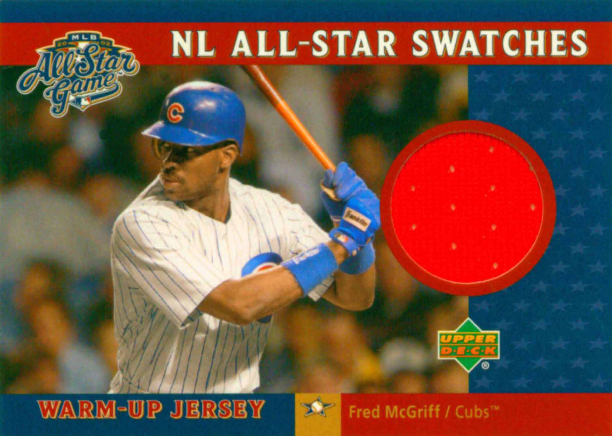 2003 Upper Deck NL All-Star Swatches