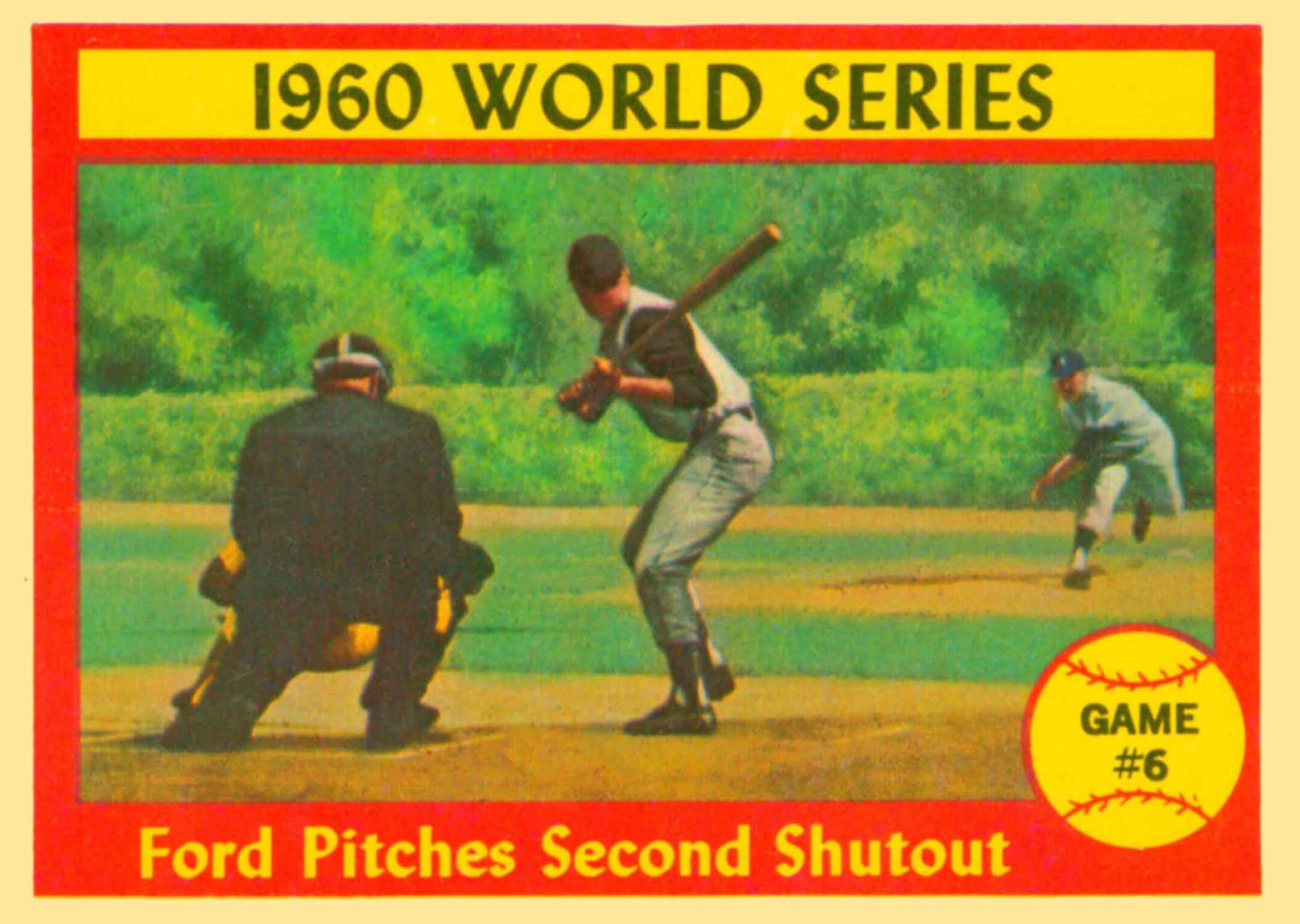 1961 Topps World Series