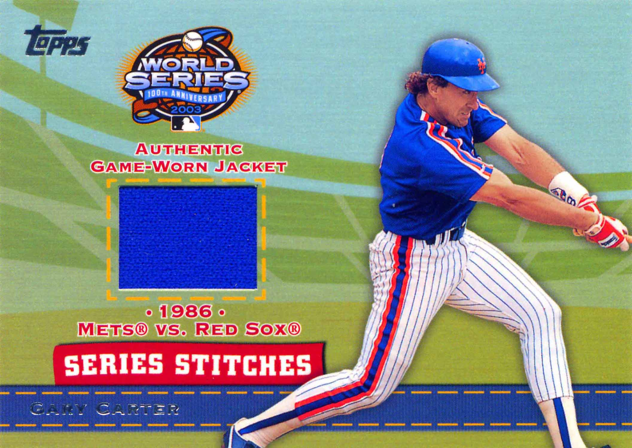 2004 Topps Series Stitches Relics Jacket