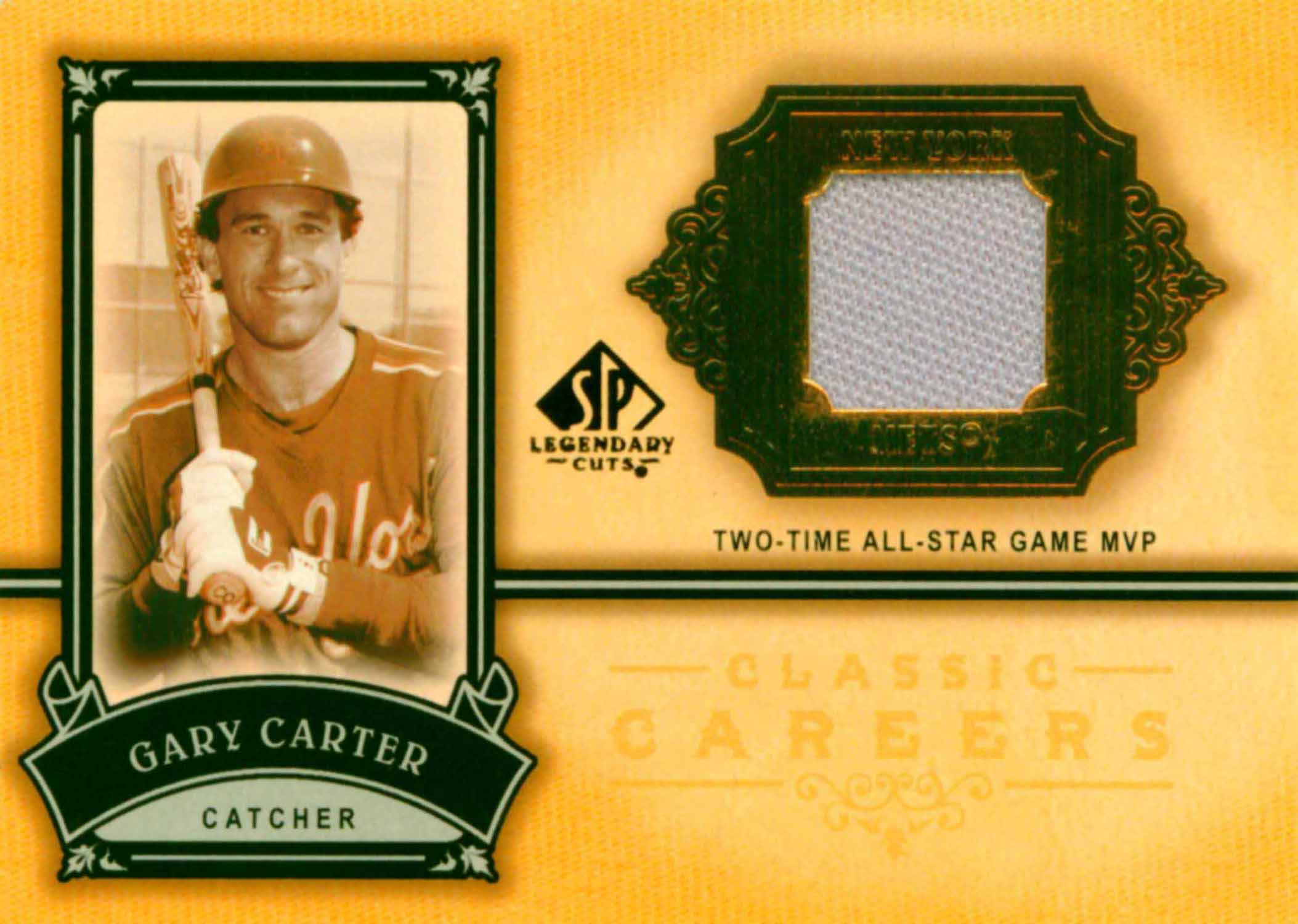 2005 SP Legendary Cuts Classic Careers Material Jersey