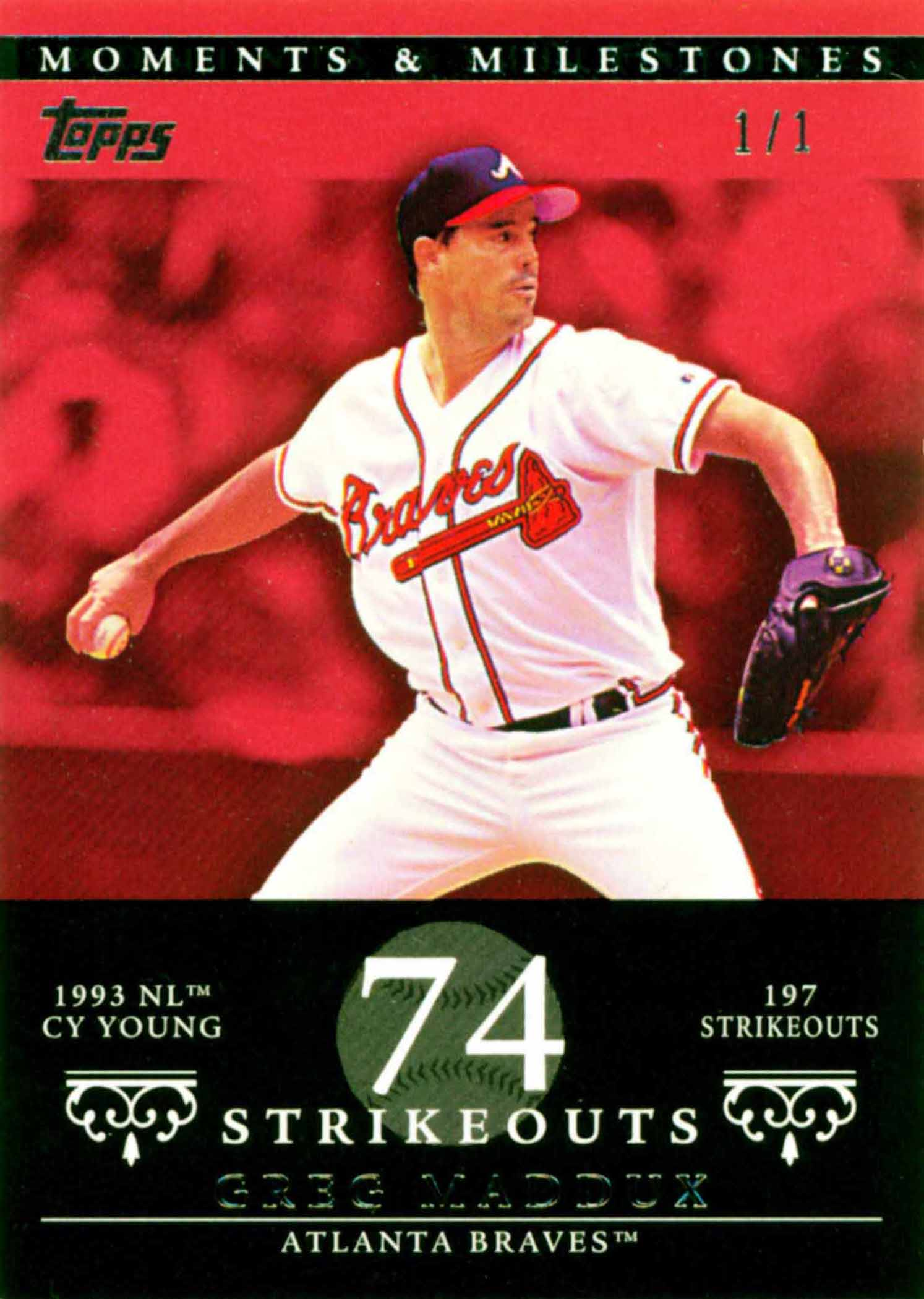 2007 Topps Moments and Milestones Red