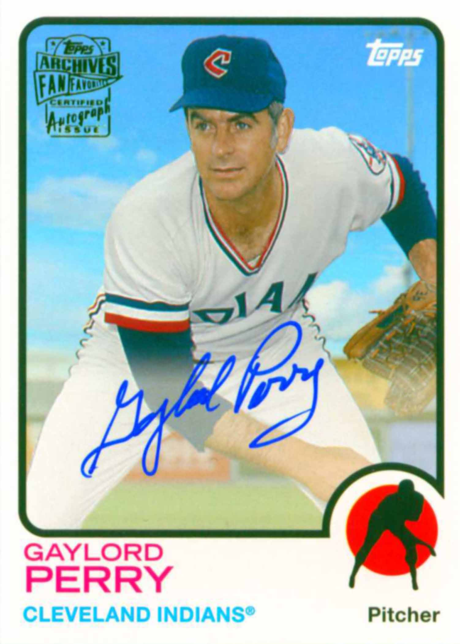 2015 Topps Archives Fan Favorites Autographs
