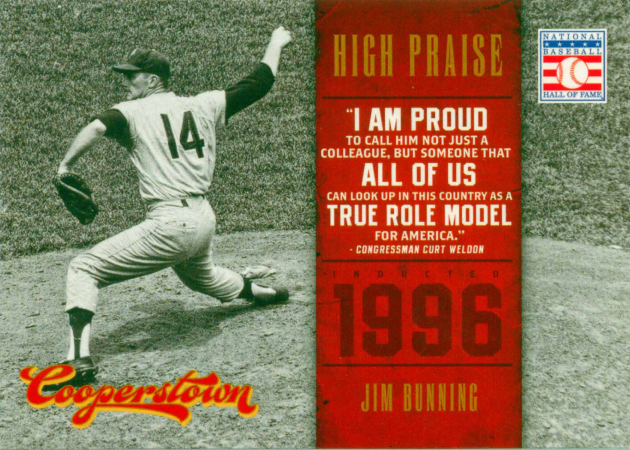 2012 Panini Cooperstown High Praise