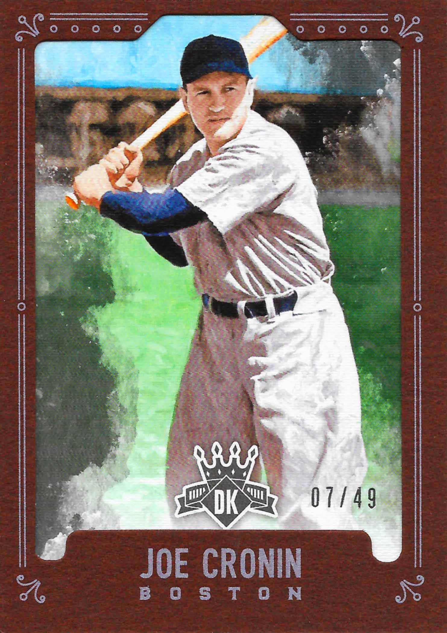 2012 Panini Cooperstown Crystal Collection Blue