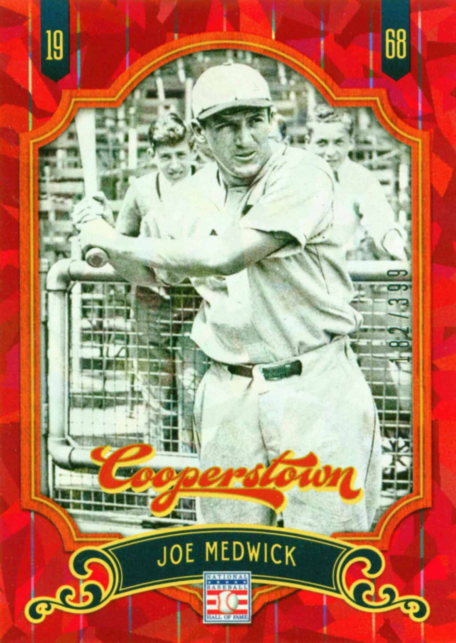 2012 Panini Cooperstown Crystal Collection Red