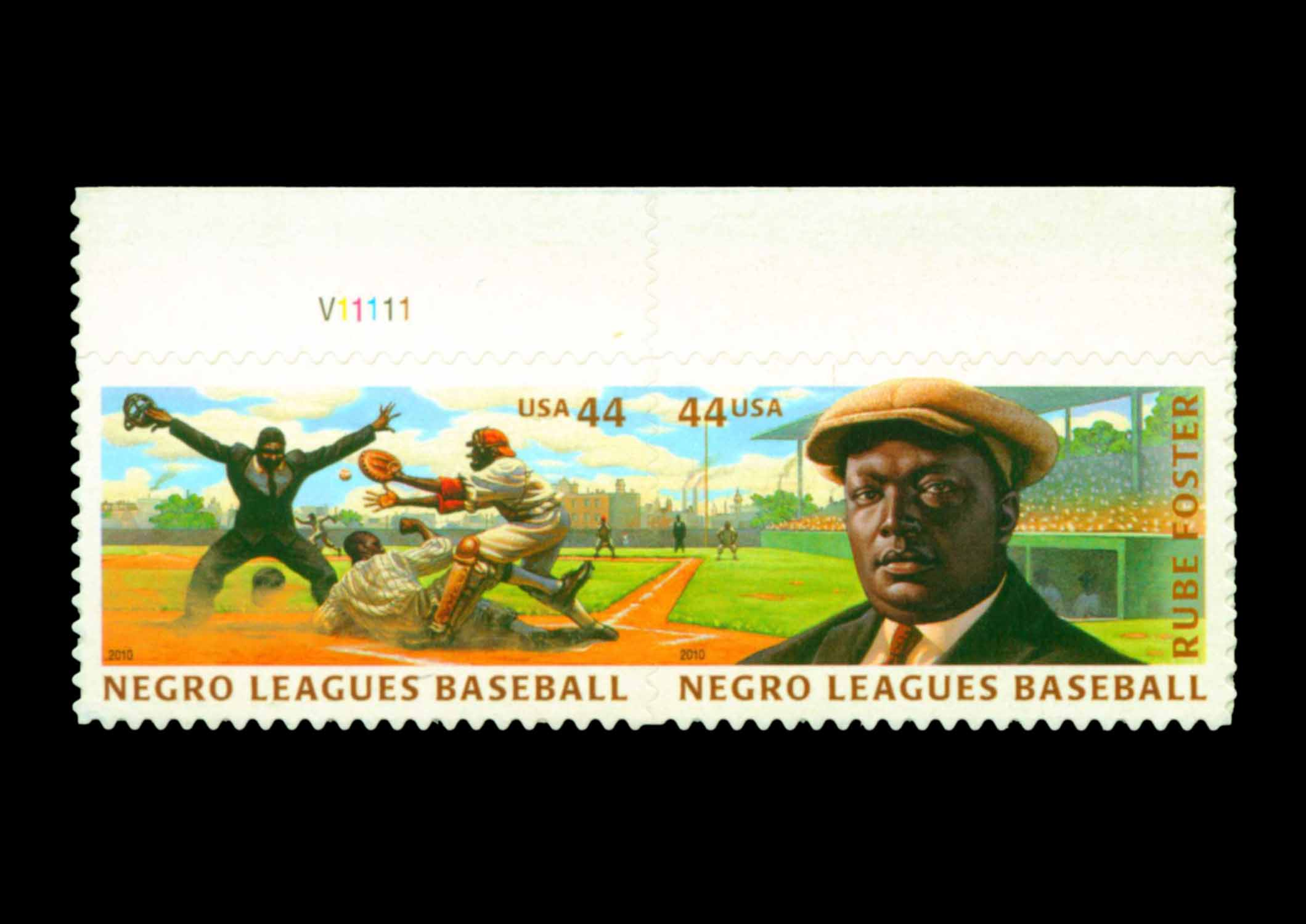 2010 USPS Negro Leagues Baseball Stamps
