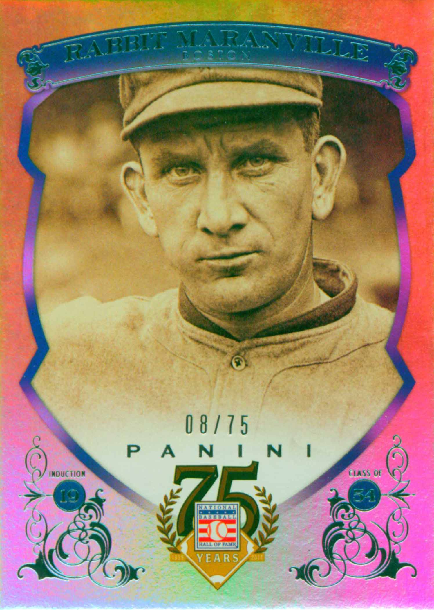 2014 Panini Golden Age Mini Hindu Red Back