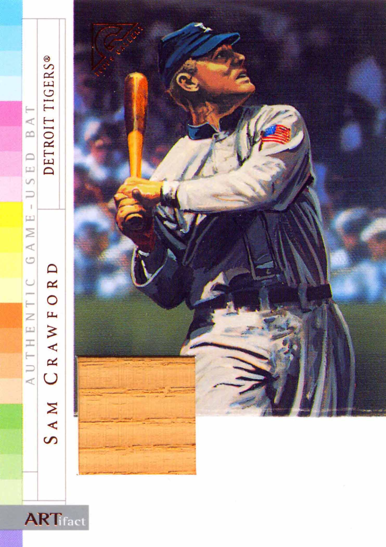 2003 Topps Gallery Hall of Fame ARTifact Relics Bat