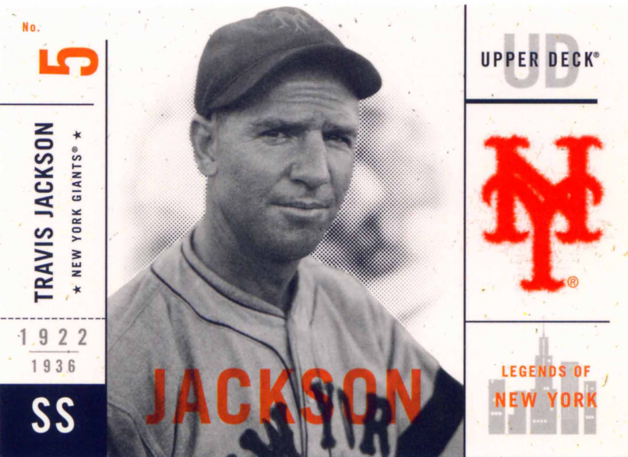 2001 Upper Deck Legends of New York