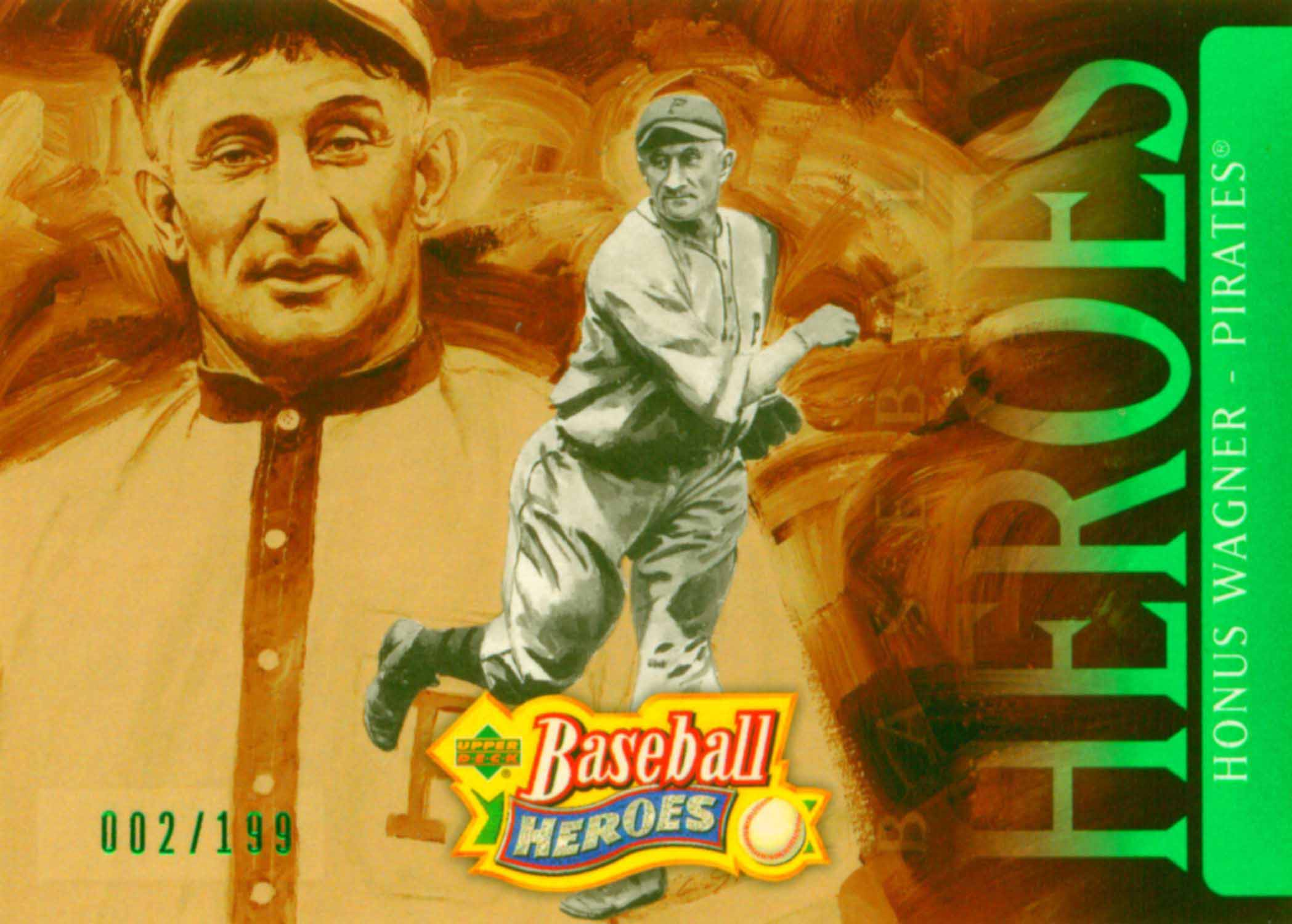 2005 Upper Deck Baseball Heroes Emerald Header