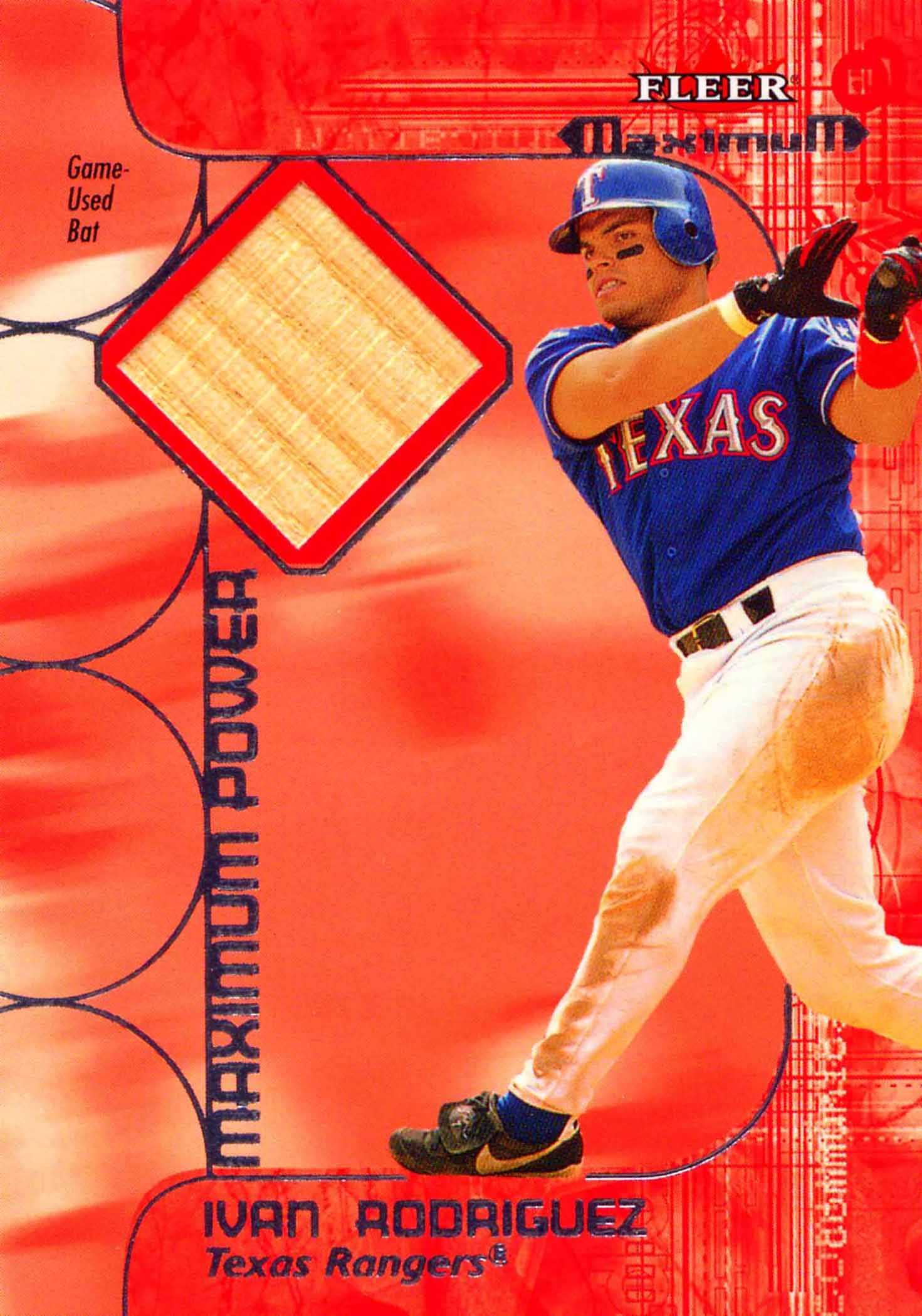 2002 Fleer Maximum Power Bat