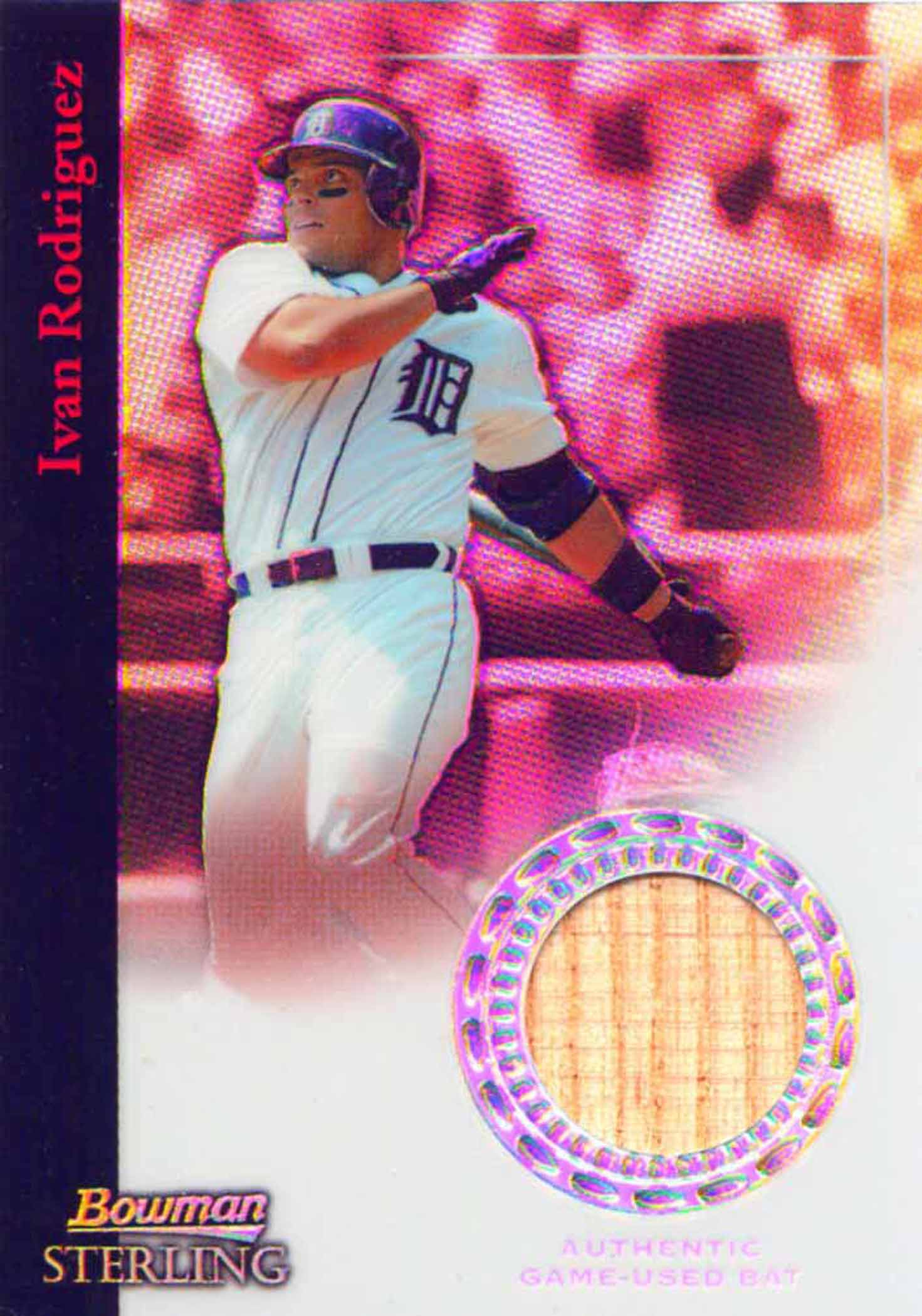 2004 Bowman Sterling Refractors Bat
