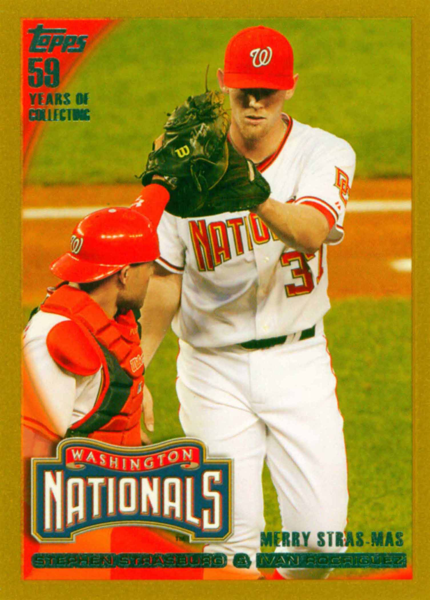 2010 Topps Update Gold