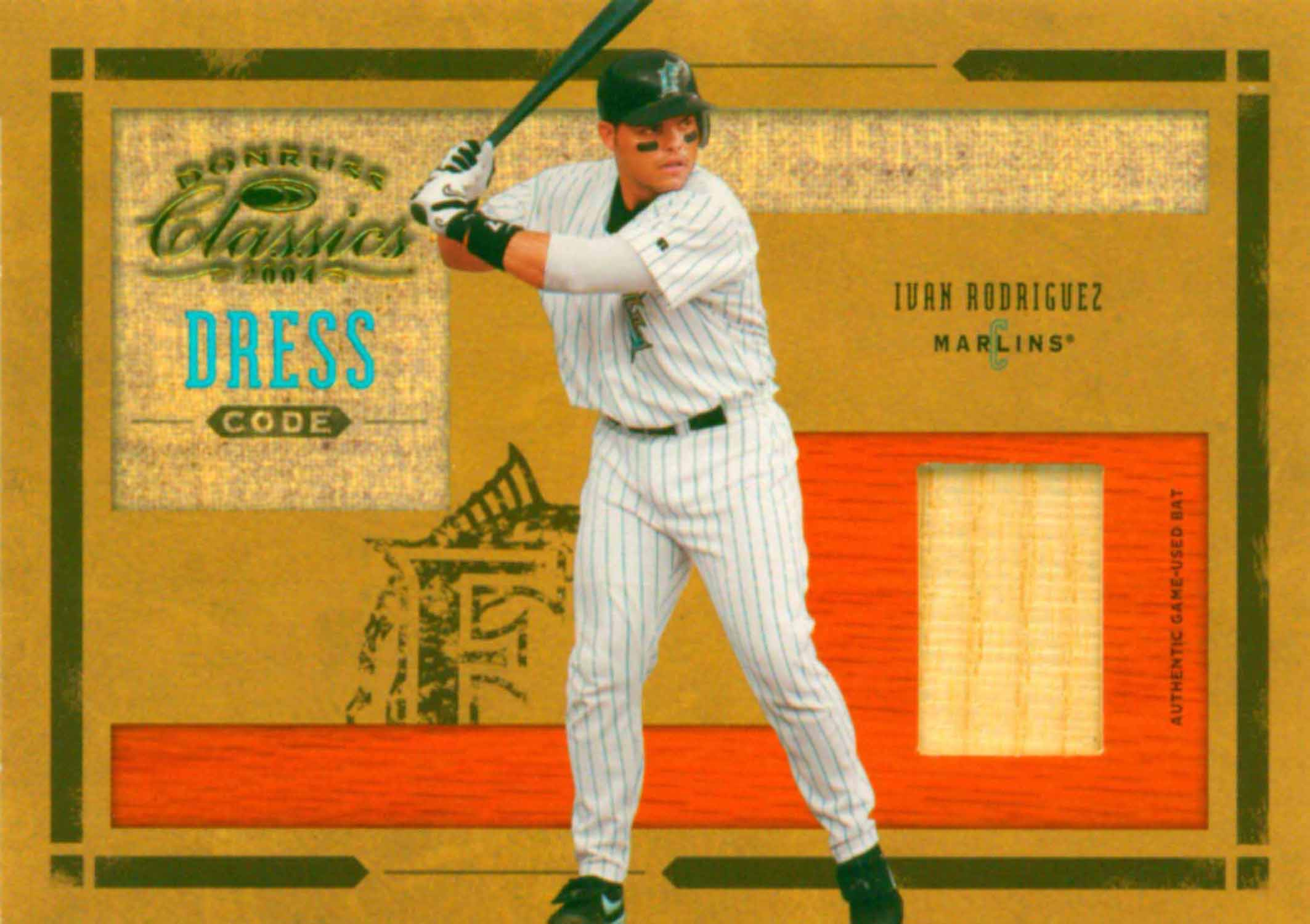 2003 Topps Tribute Contemporary Perennial All-Star Relics Bat