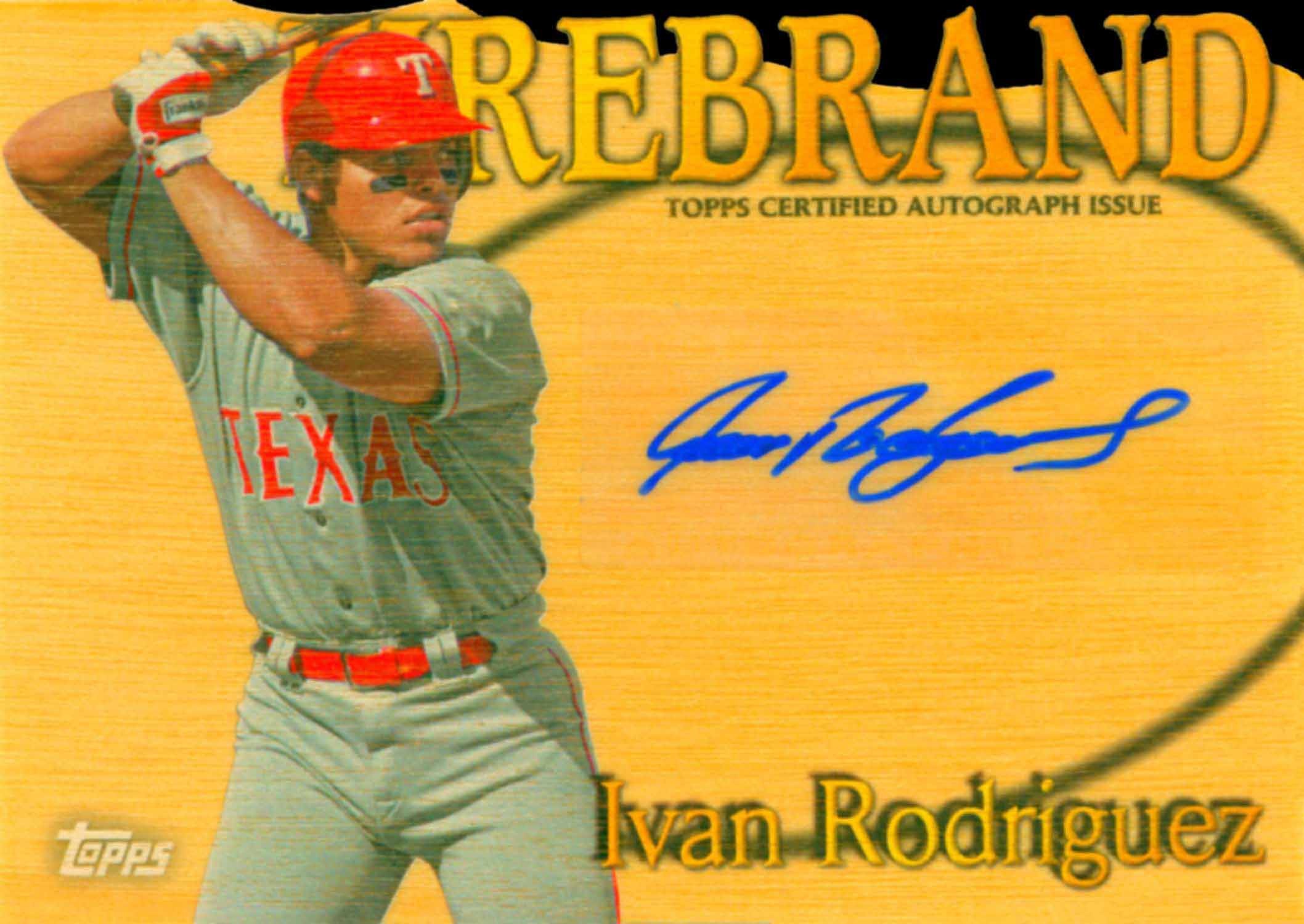 2014 Topps Archives Stadium Club Firebrand Autographs