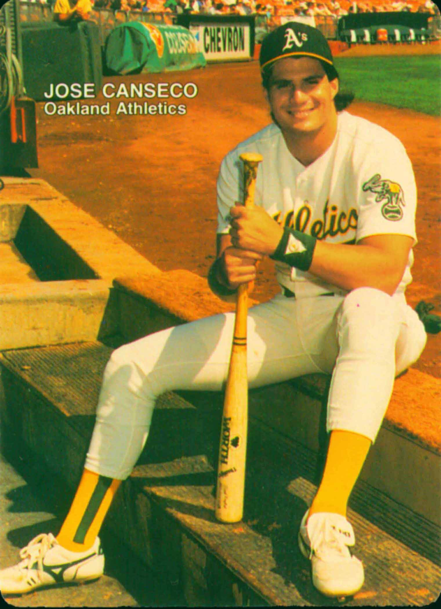 1990 Mother's Cookies Canseco