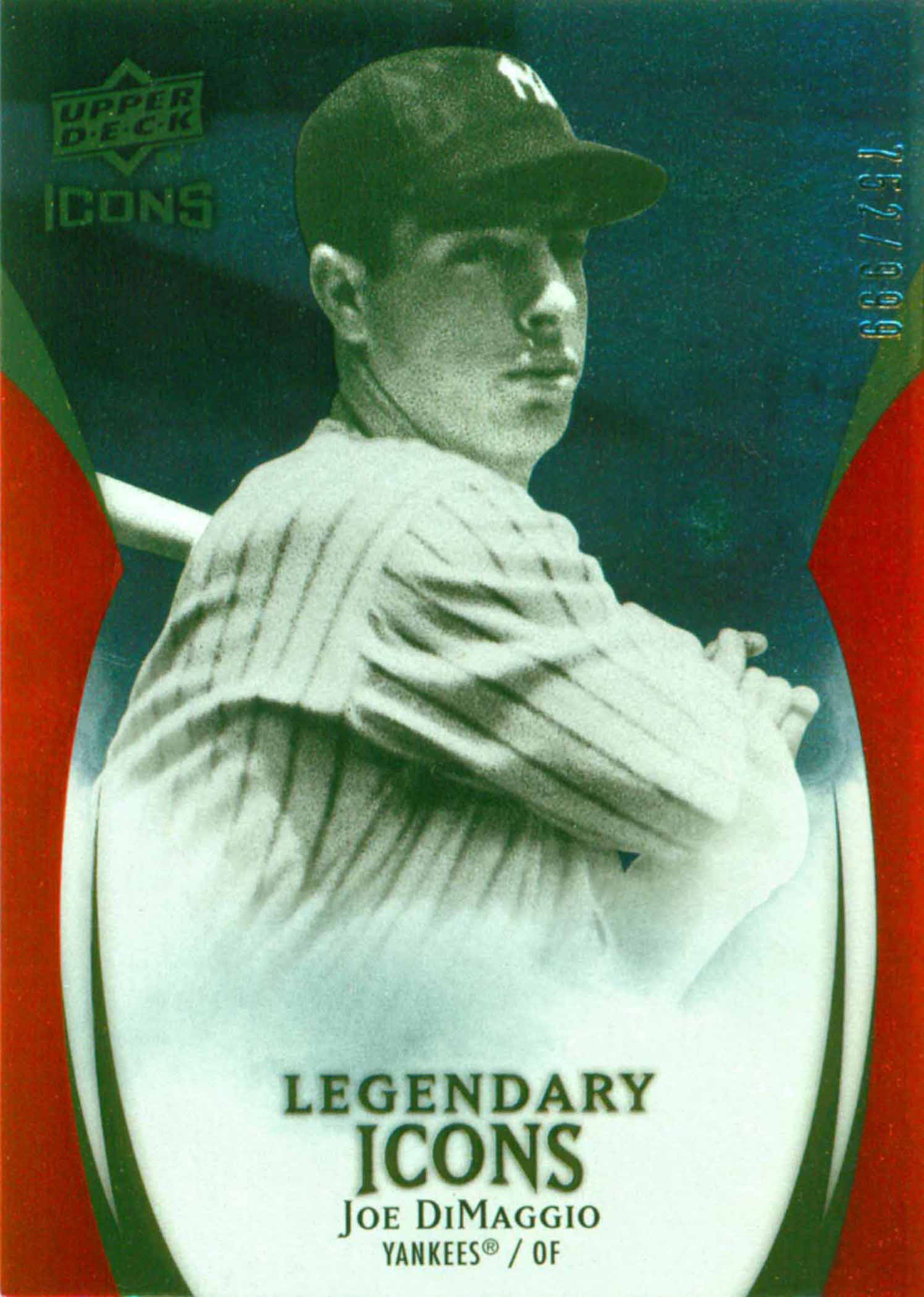 2008 Upper Deck Yankee Stadium Legacy Collection
