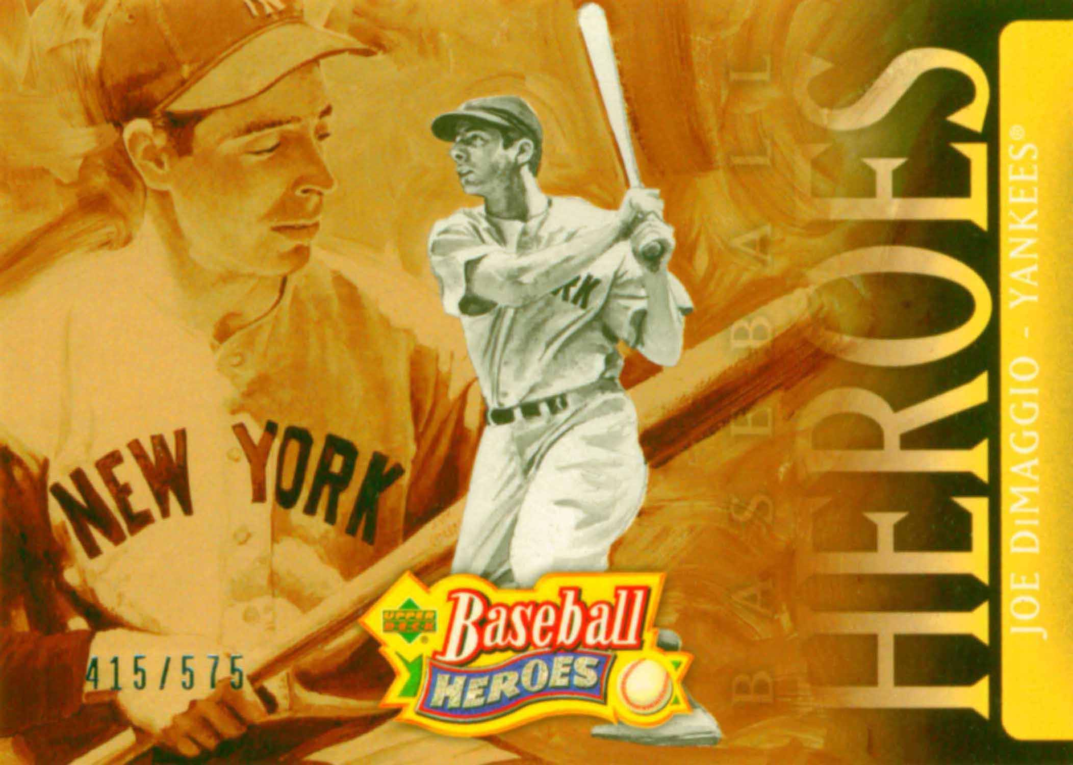 2005 Upper Deck Baseball Heroes Header