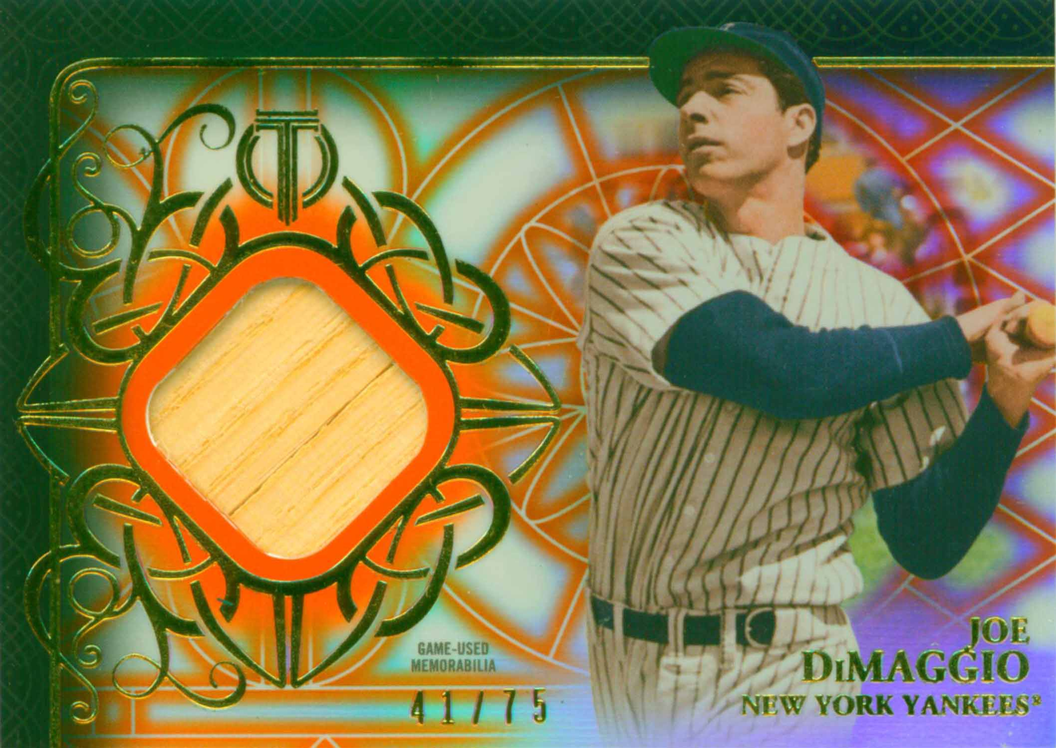 2015 Topps Tribute Relics Orange