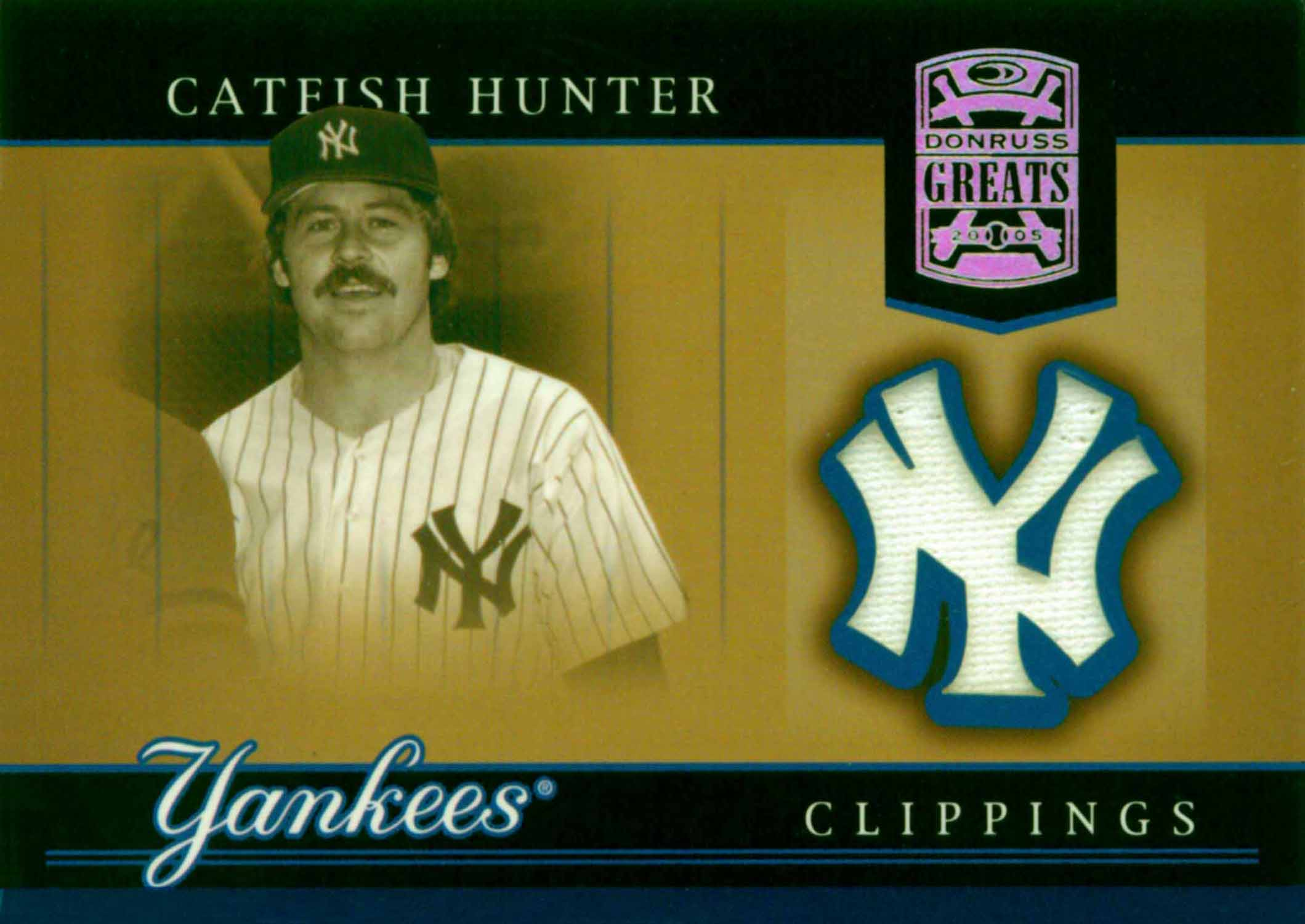 2005 Donruss Greats Yankee Clippings Material Jersey