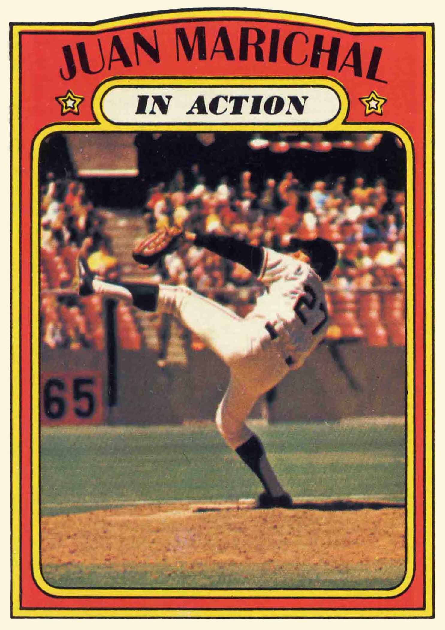 1972 Topps In Action