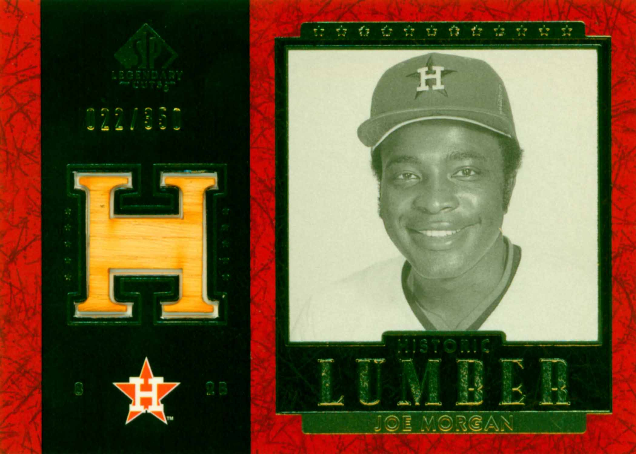 2003 SP Legendary Cuts Historic Lumber