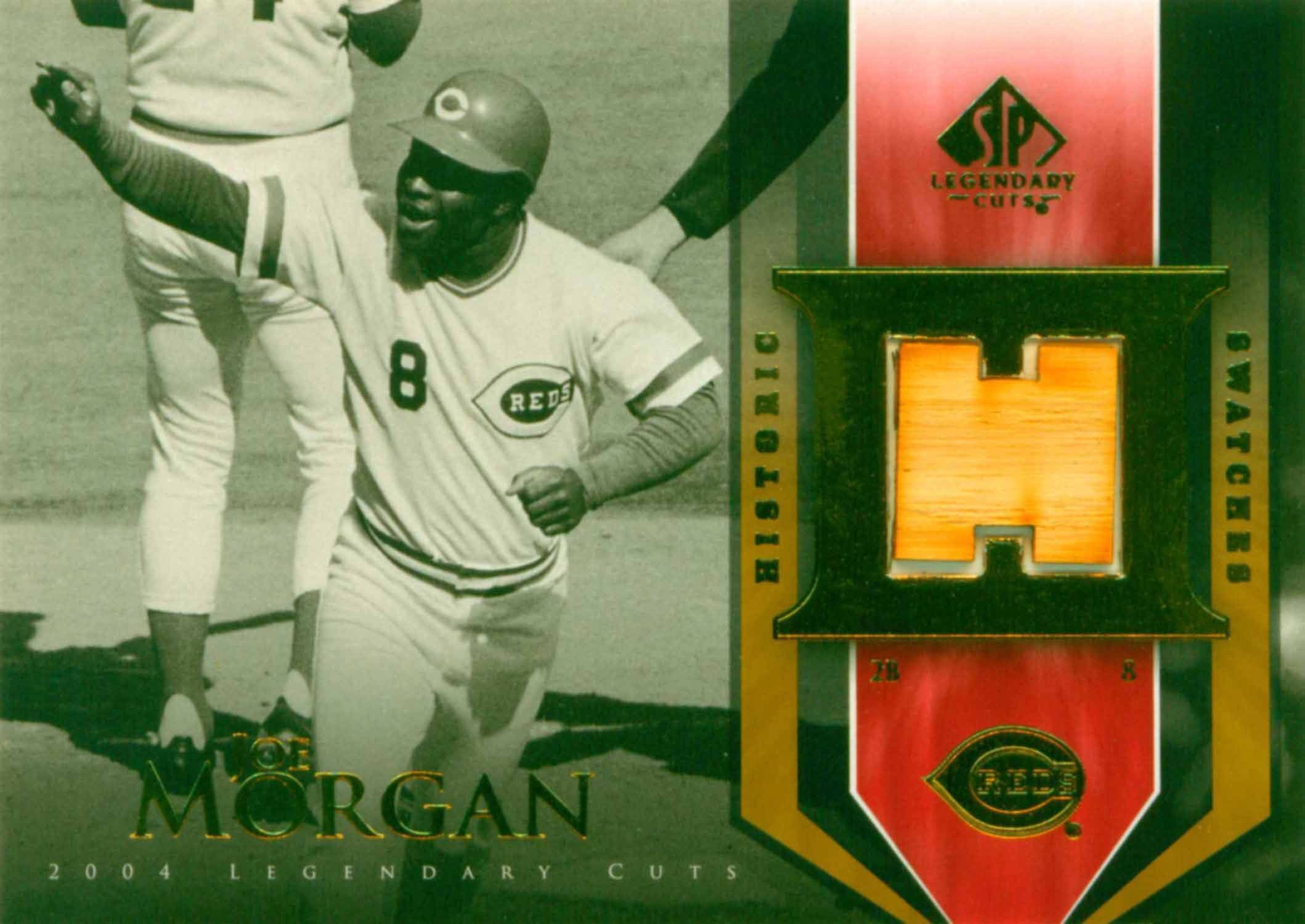 2004 SP Legendary Cuts Historic Swatches Bat