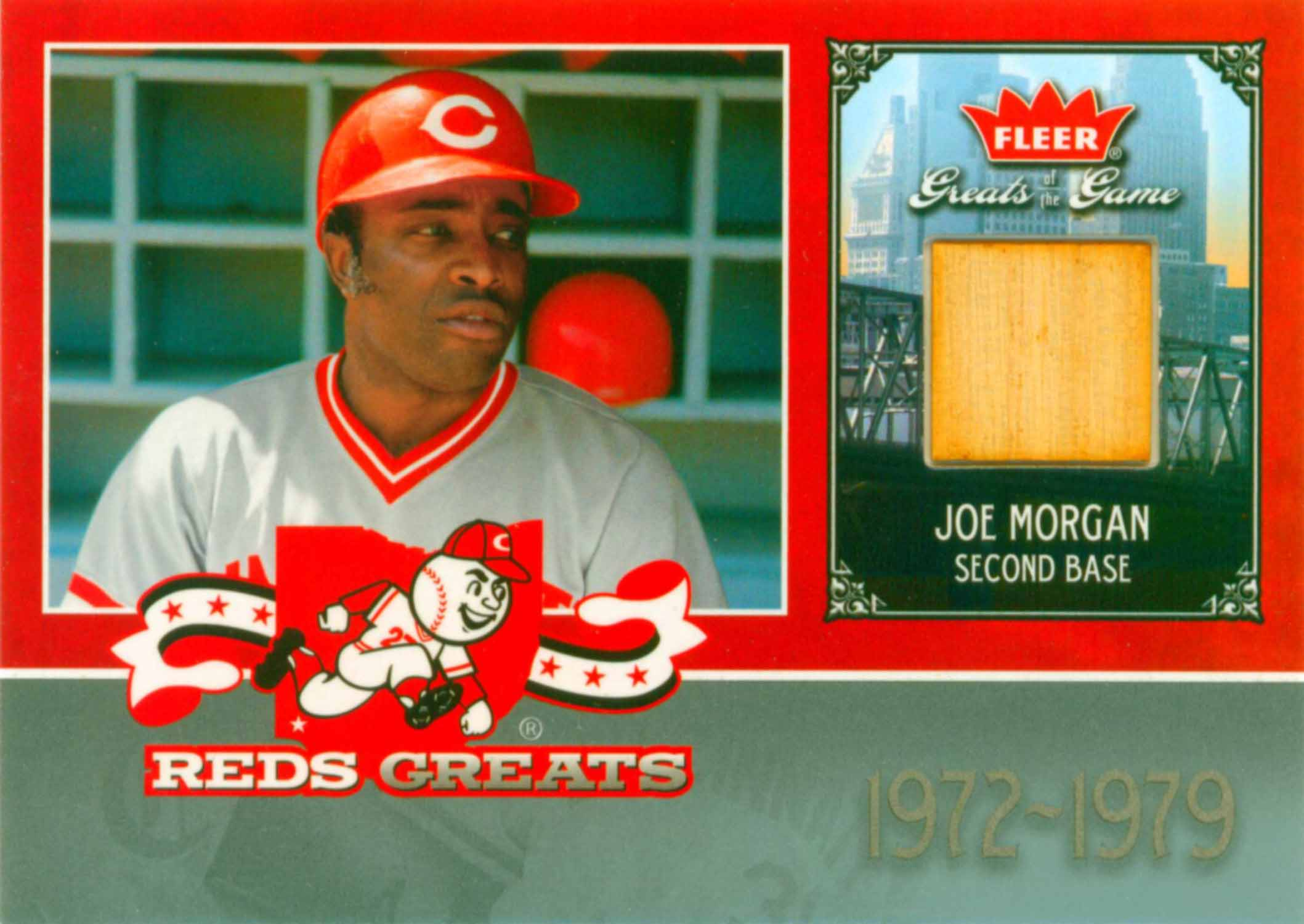 2006 Greats of the Game Reds Greats Memorabilia Bat