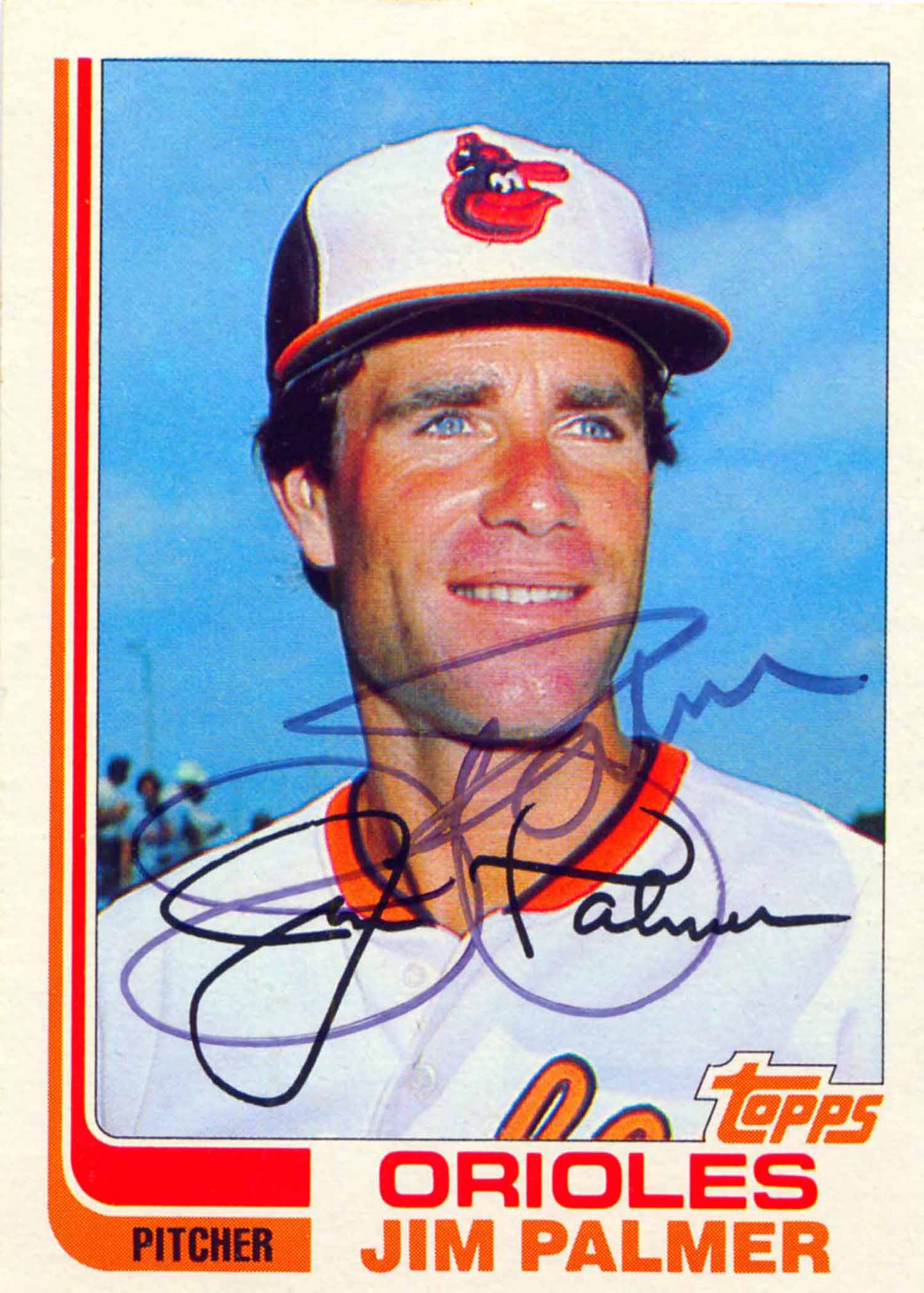 1982 Topps Autographed