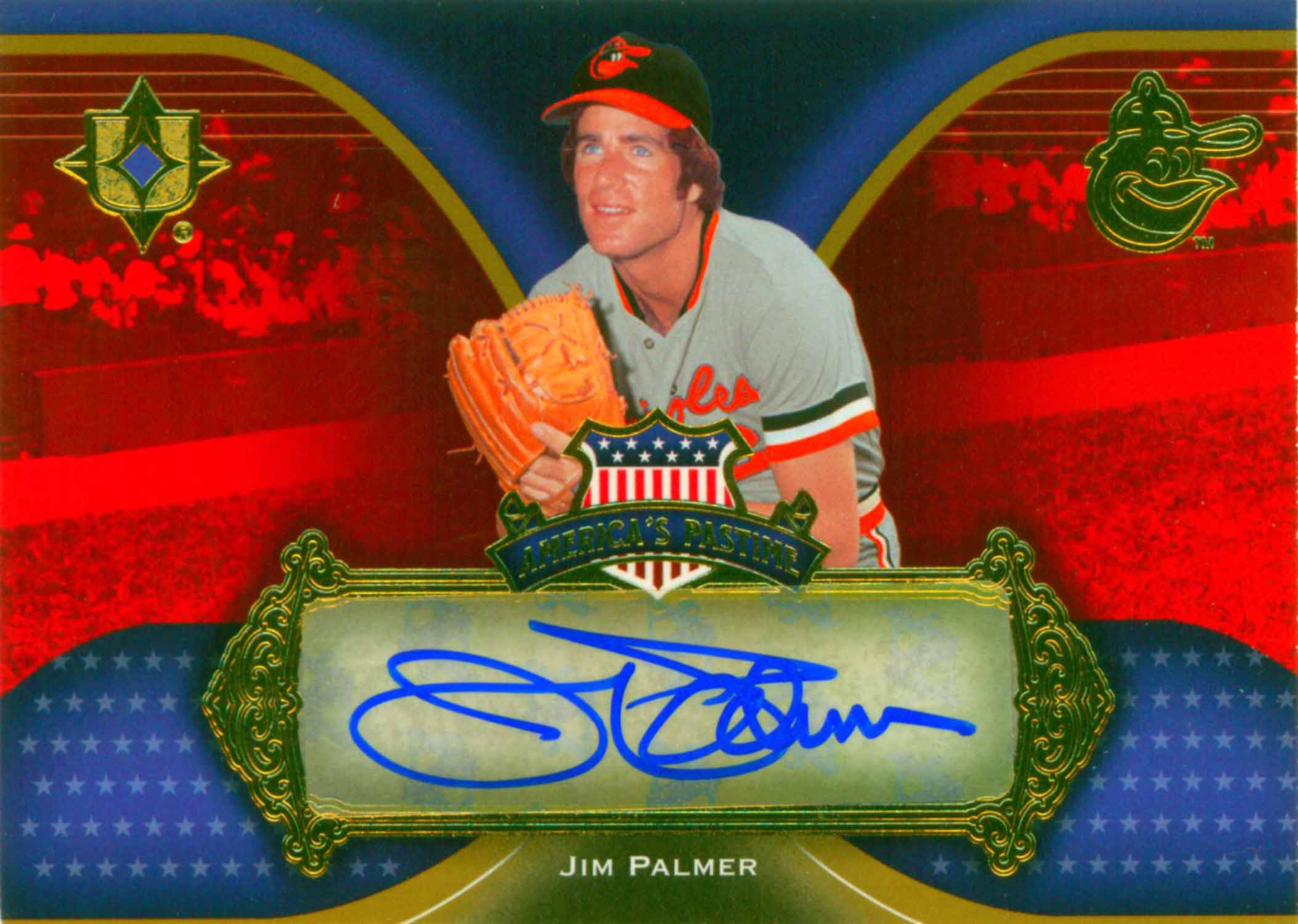 2007 Ultimate Collection America's Pastime Signatures