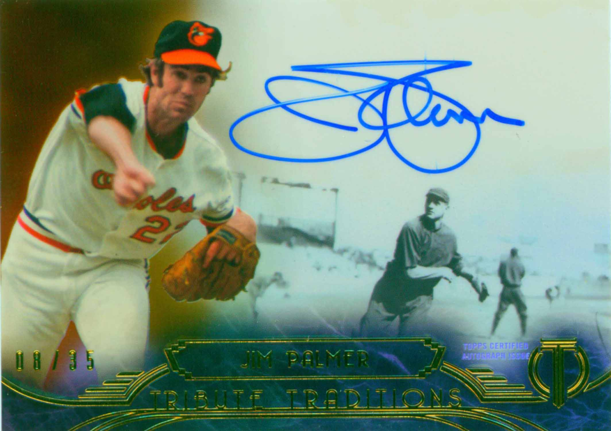 2014 Topps Tribute Tribute Traditions Autographs Sepia